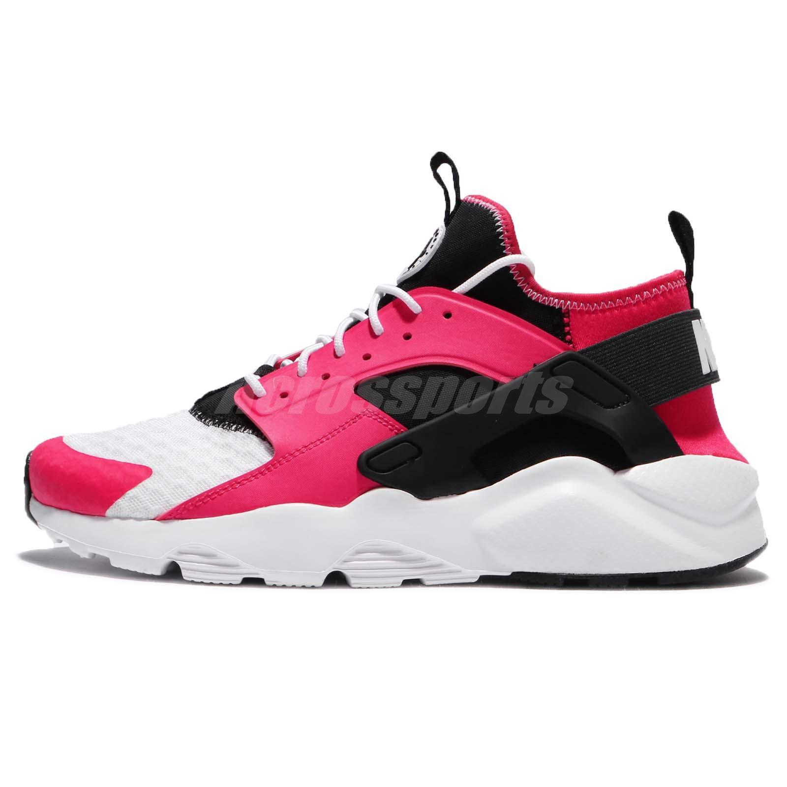 9d737f79ba89 Nike Air Huarache Run Ultra Siren Red Black White Men Shoes Sneaker 819685- 603