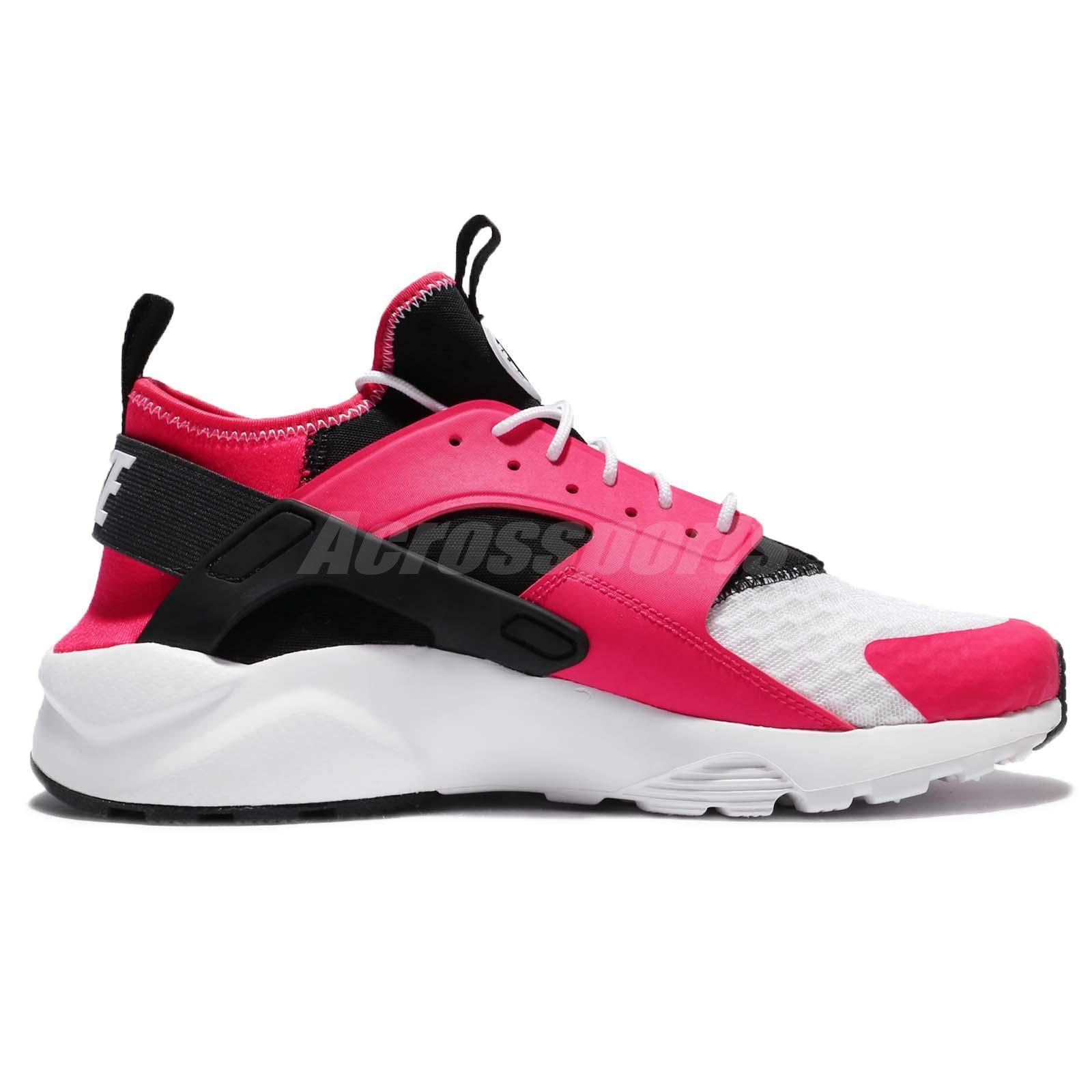 5d03ddc83d01 Nike Air Huarache Run Ultra Siren Red Black White Men Shoes Sneaker ...