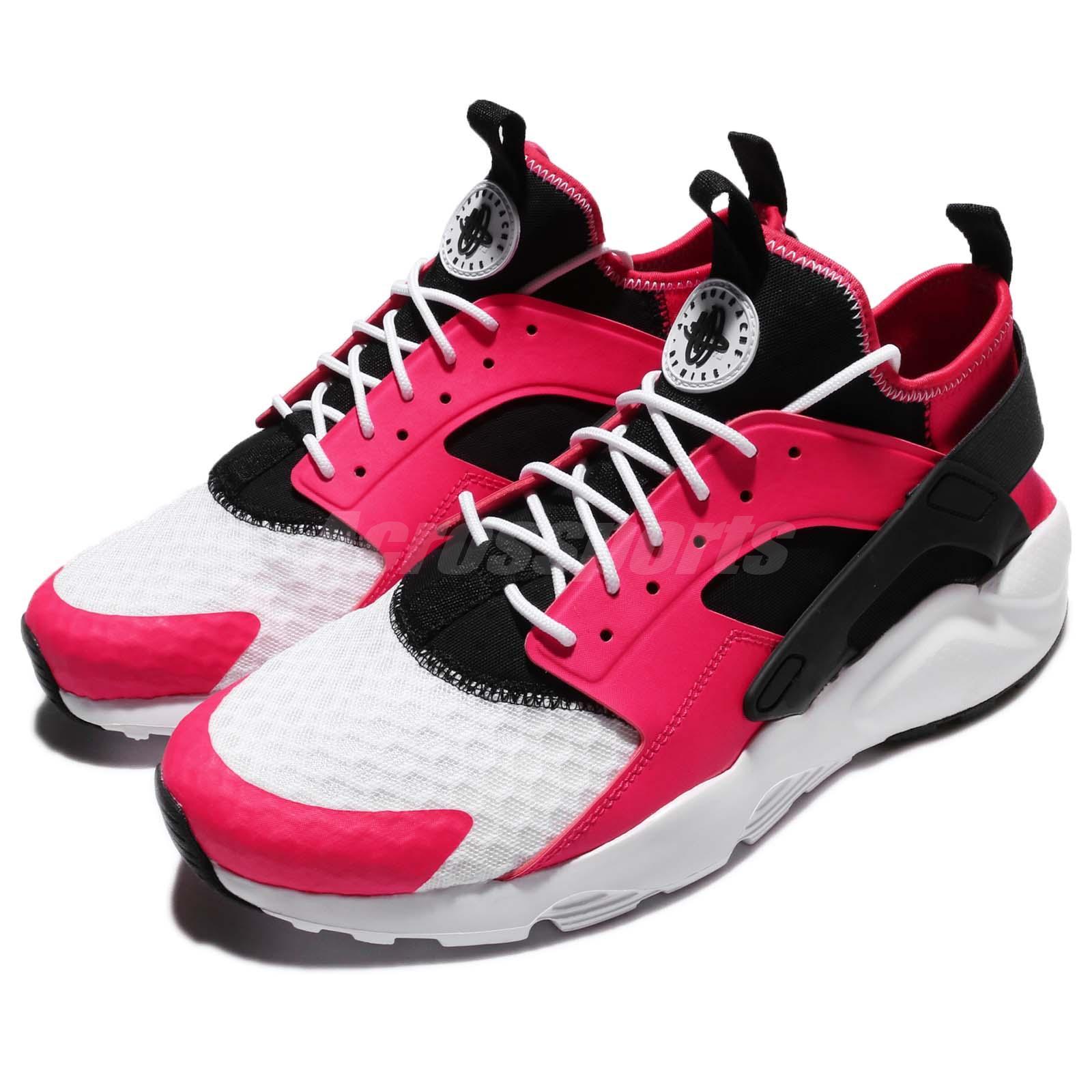 c24f5883ab80 Details about Nike Air Huarache Run Ultra Siren Red Black White Men Shoes  Sneaker 819685-603