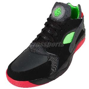 2d0fb5008501 ... Nike Air Flight Huarache Low Black Red Green Mens Basketball Shoes  819847-001 ...