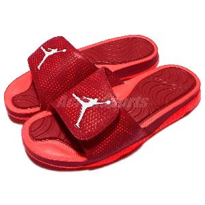 7e927ac75ff622 ... White Infrared 23 Gym Red Only 39 Nike Jordan Hydro 5 V Red Infrared  Mens Sandal Slides Slippers AJ5 820257-602 ...