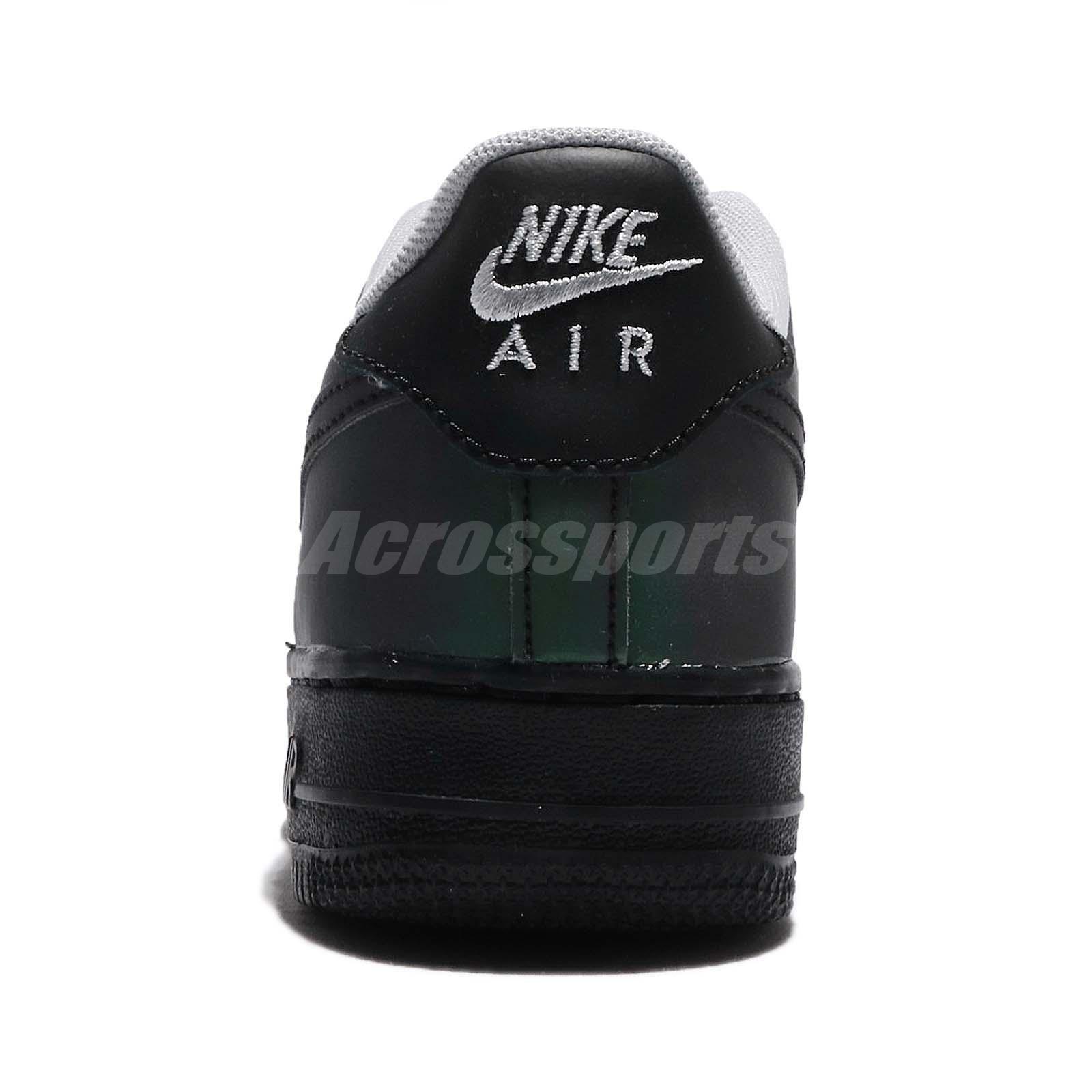 7332d21912cd Nike Air Force 1 LV8 GS Reflective Black AF1 Kids Women Shoes ...