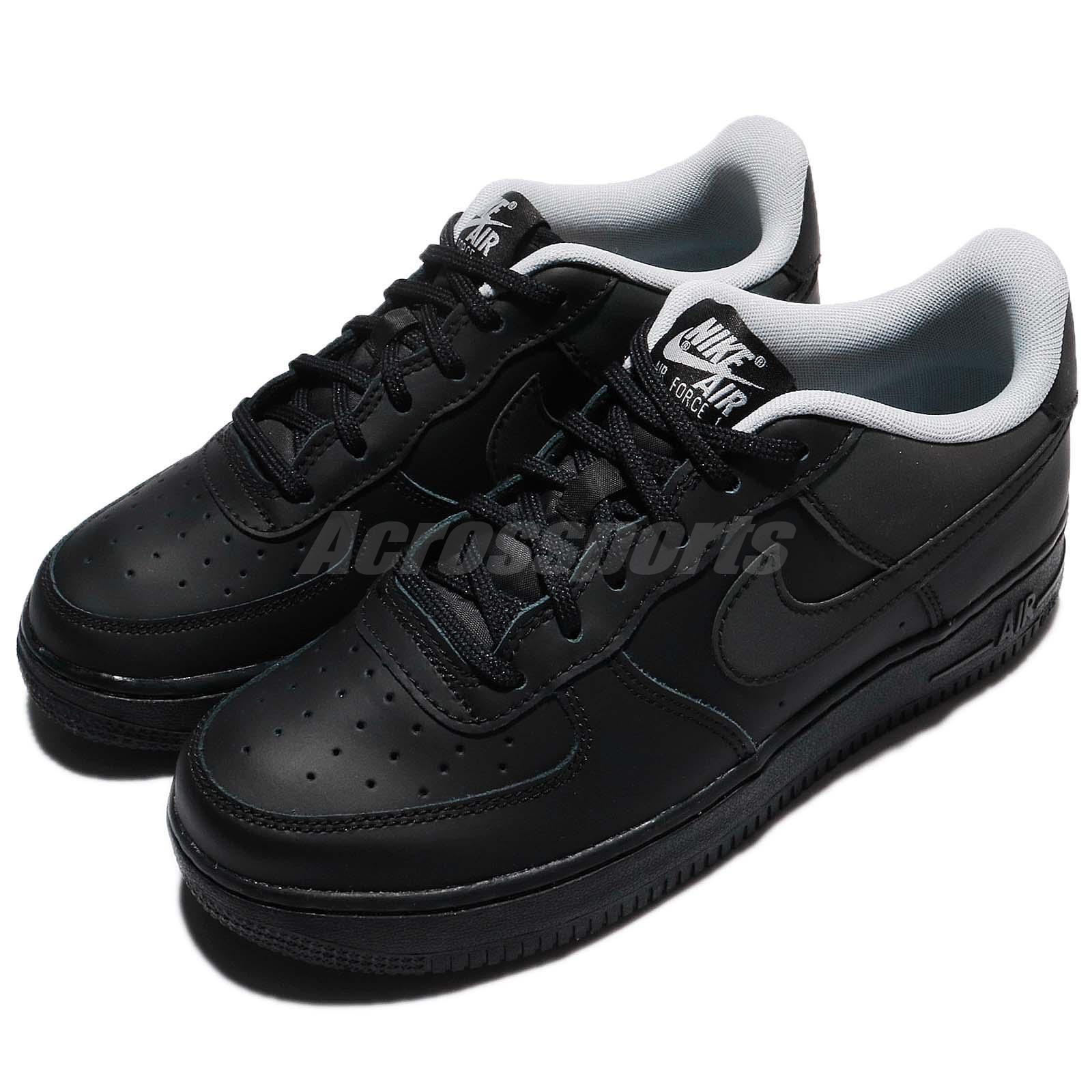 67efcd357393 Details about Nike Air Force 1 LV8 GS Reflective Black AF1 Kids Women Shoes  Sneaker 820438-009