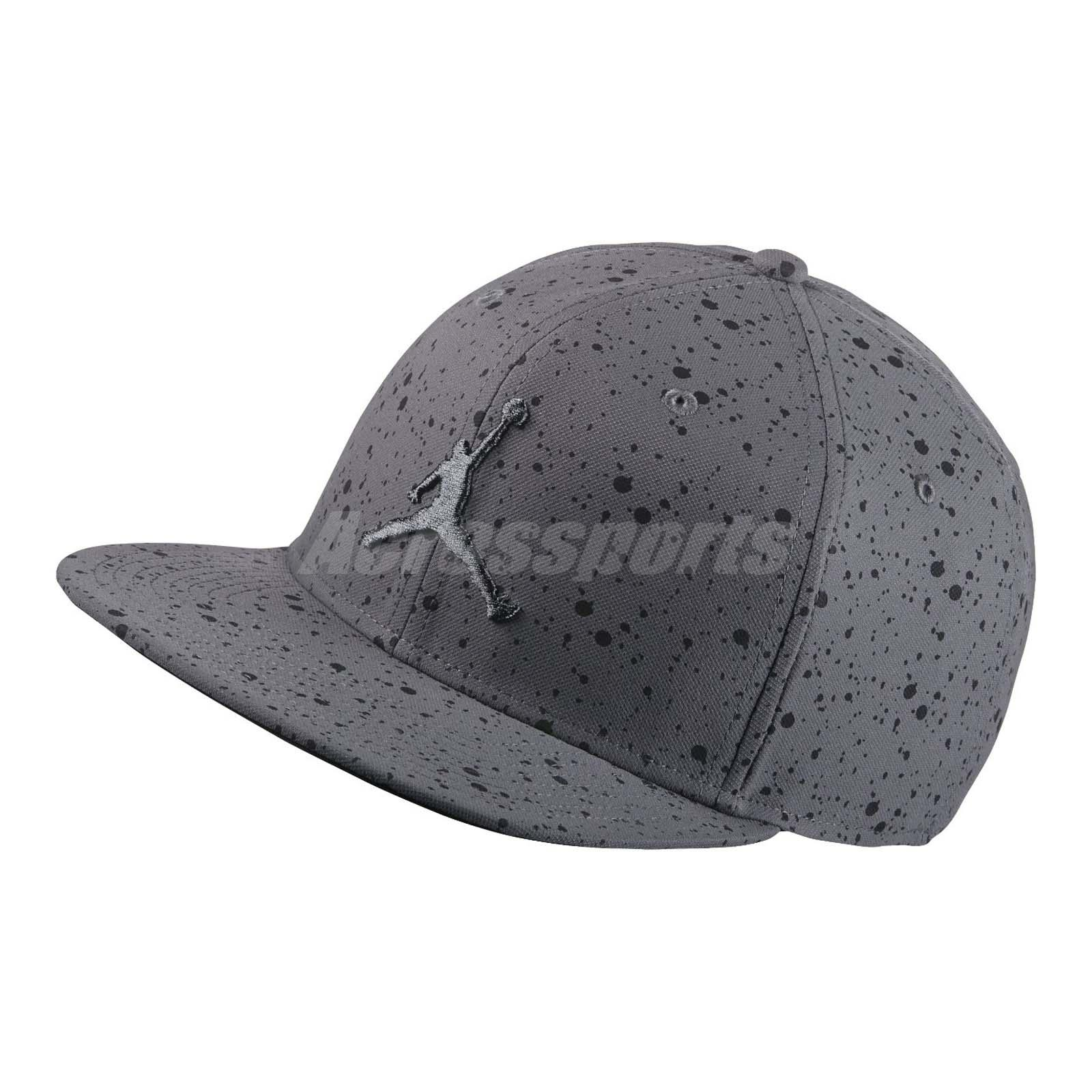 ... black 801767 010 5b057 aadef  best price nike air jordan speckle print  snapback jumpman baseball cap hat grey 821830 021 da6b9 4b1ce7abc1f1