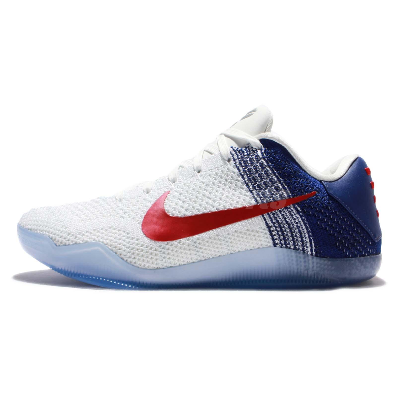 the latest c3dc0 1f04e usa nike kobe 11 flyknit red blue 5e925 5c516  discount nike kobe 11 brazil nike  kobe xi elite low 11 usa rio olympics bryant men