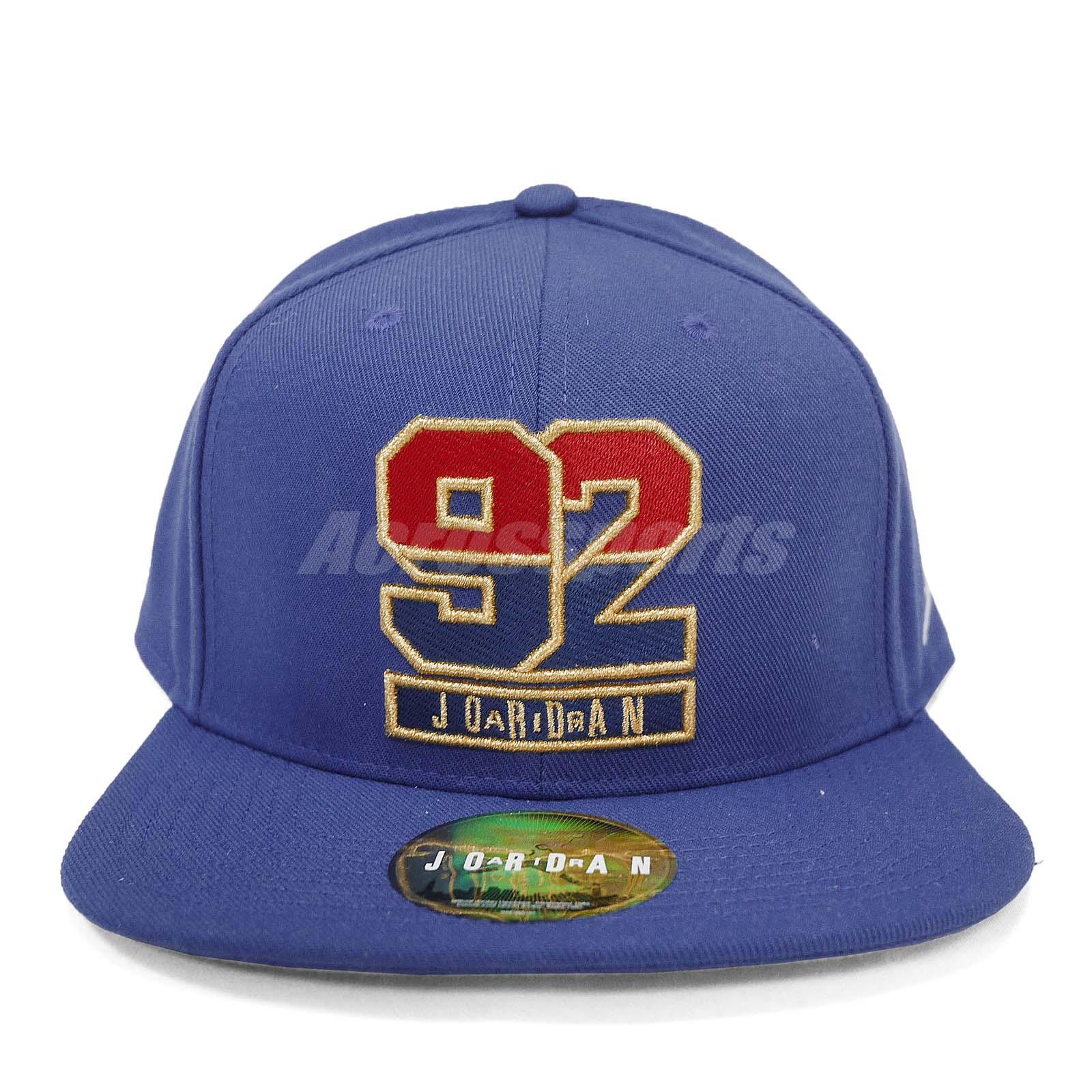 a84f7e87b97 Nike Air Jordan AJ 7 1992 USA Dream Team Adjustable Hat Cap Snapback ...