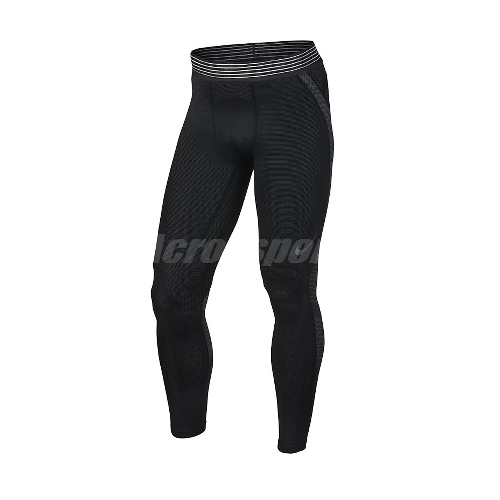 97689a4d2141a Nike Men Pro Hypercool Tight Leggings Black Training Sport Runnung 828162- 010