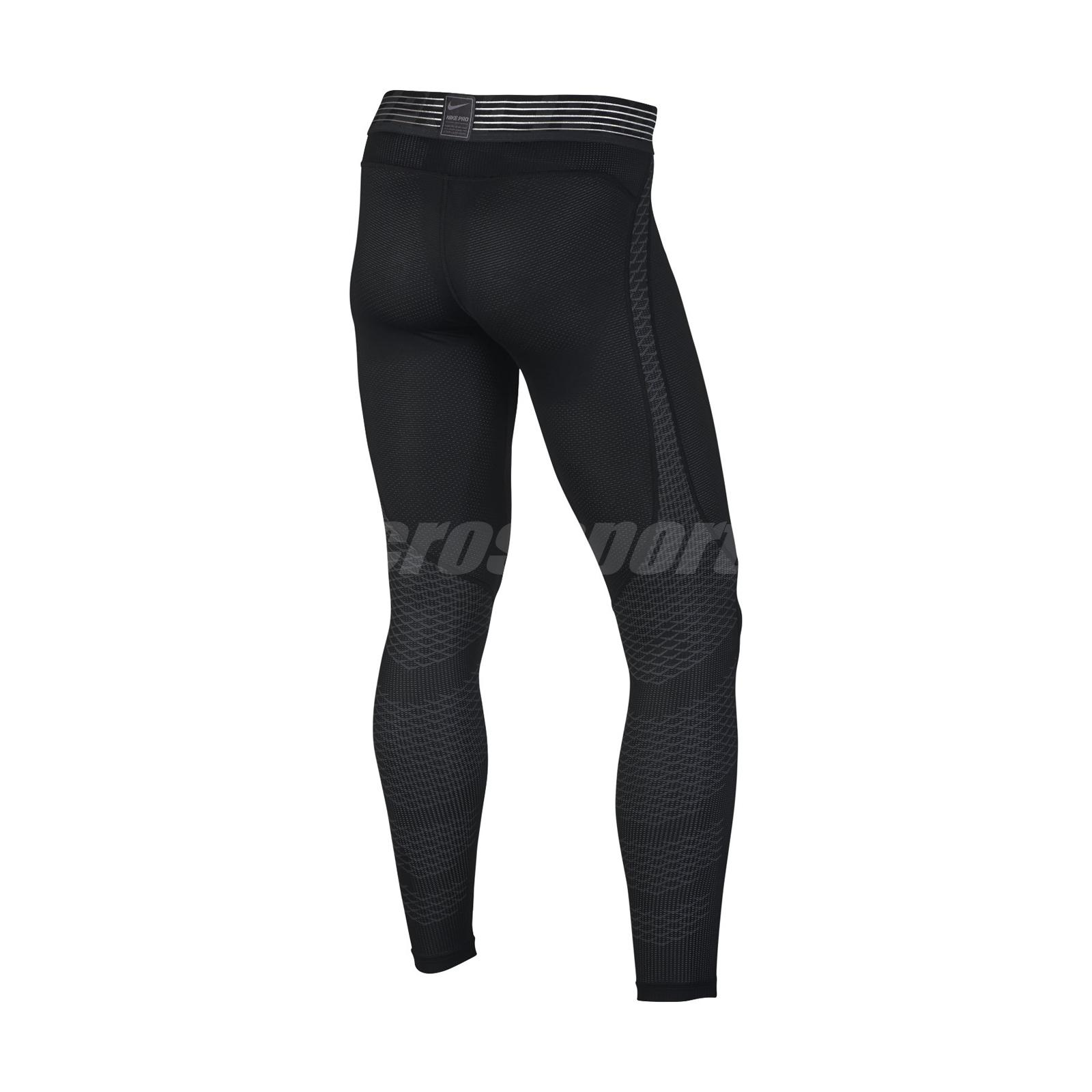 f9d053585ffa5 Nike Men Pro Hypercool Tight Leggings Black Training Sport Running ...