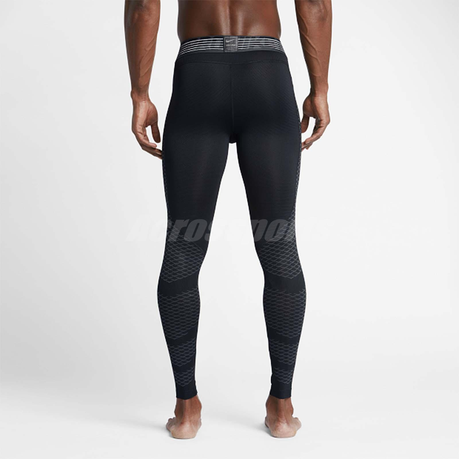 d34d255c6e761 Details about Nike Men Pro Hypercool Tight Leggings Black Training Sport  Running 828162-010