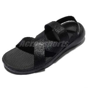 best loved b463c 57b6d ... Wmns Nike Roshe One Sandal Black Grey Womens Benassi 830584-001 Size 6  - 10 ...