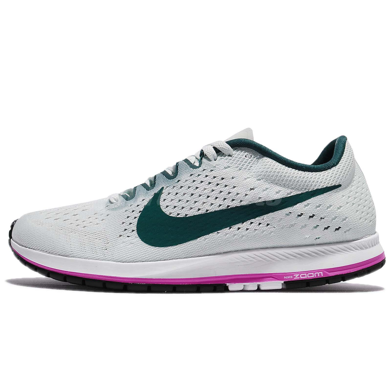 the best attitude 6f075 054ac Nike Zoom Streak 6 Barely Grey Deep Jungle Men Running Shoes Sneakers 831413 -005