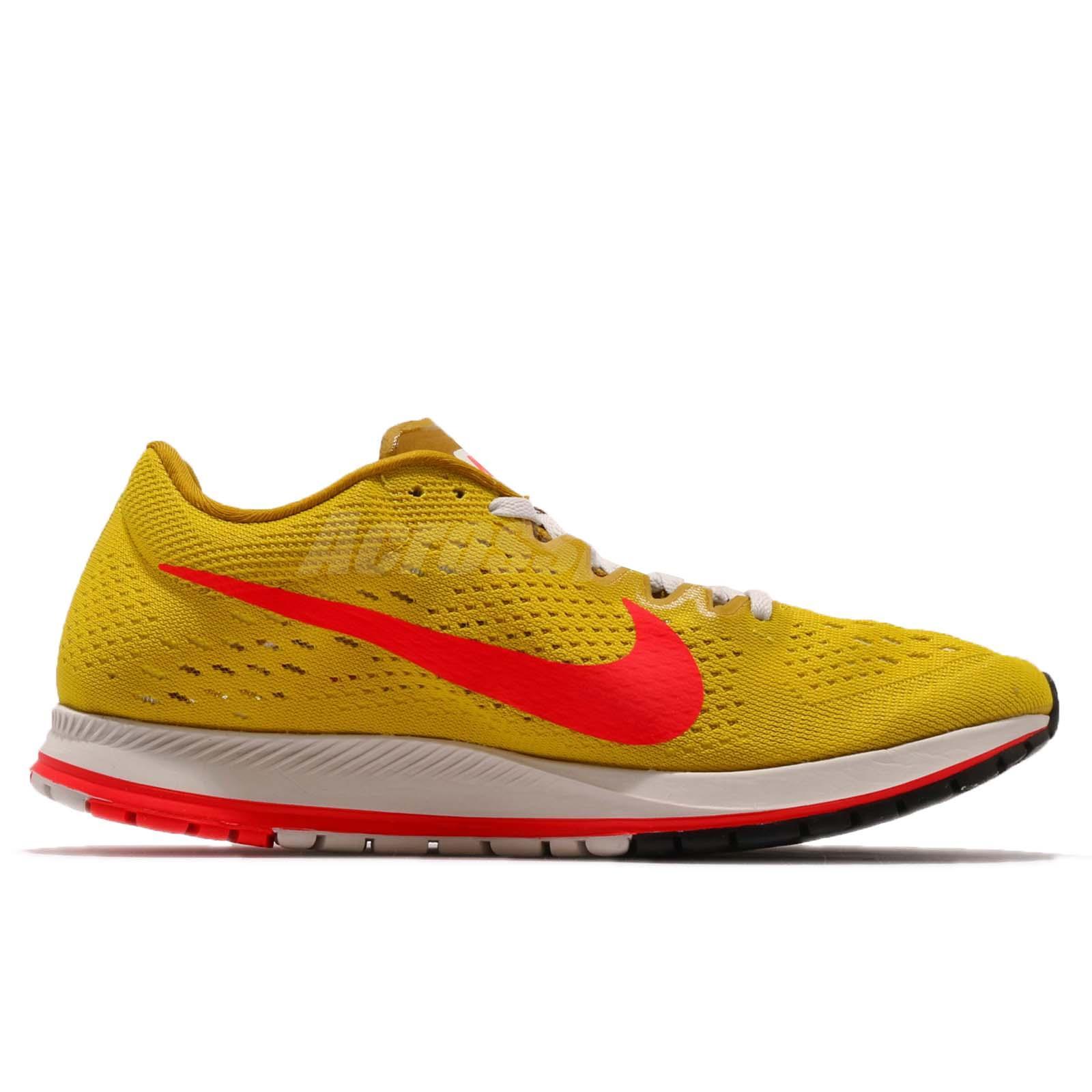 933d5744f9ae Nike Zoom Streak 6 VI Bright Citron Crimson Men Running Shoes ...