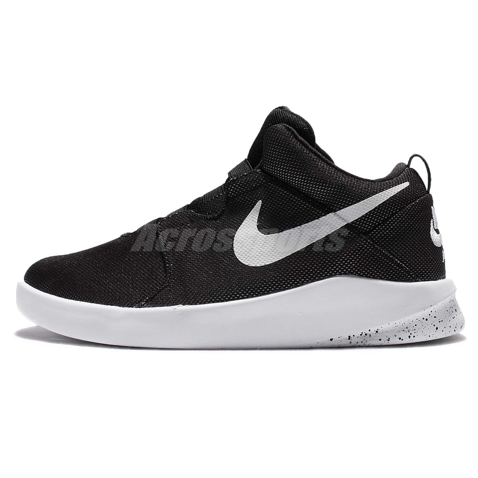 Nike Air Shibusa Black White Mens Casual Shoes Slip On ...
