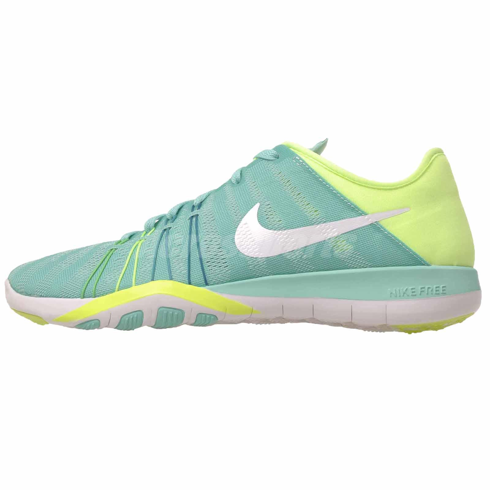 3a01a8b68687 Details about Nike Wmns Nike Free TR 6 Cross Training Womens Shoes Green  Turquoise 833413-300
