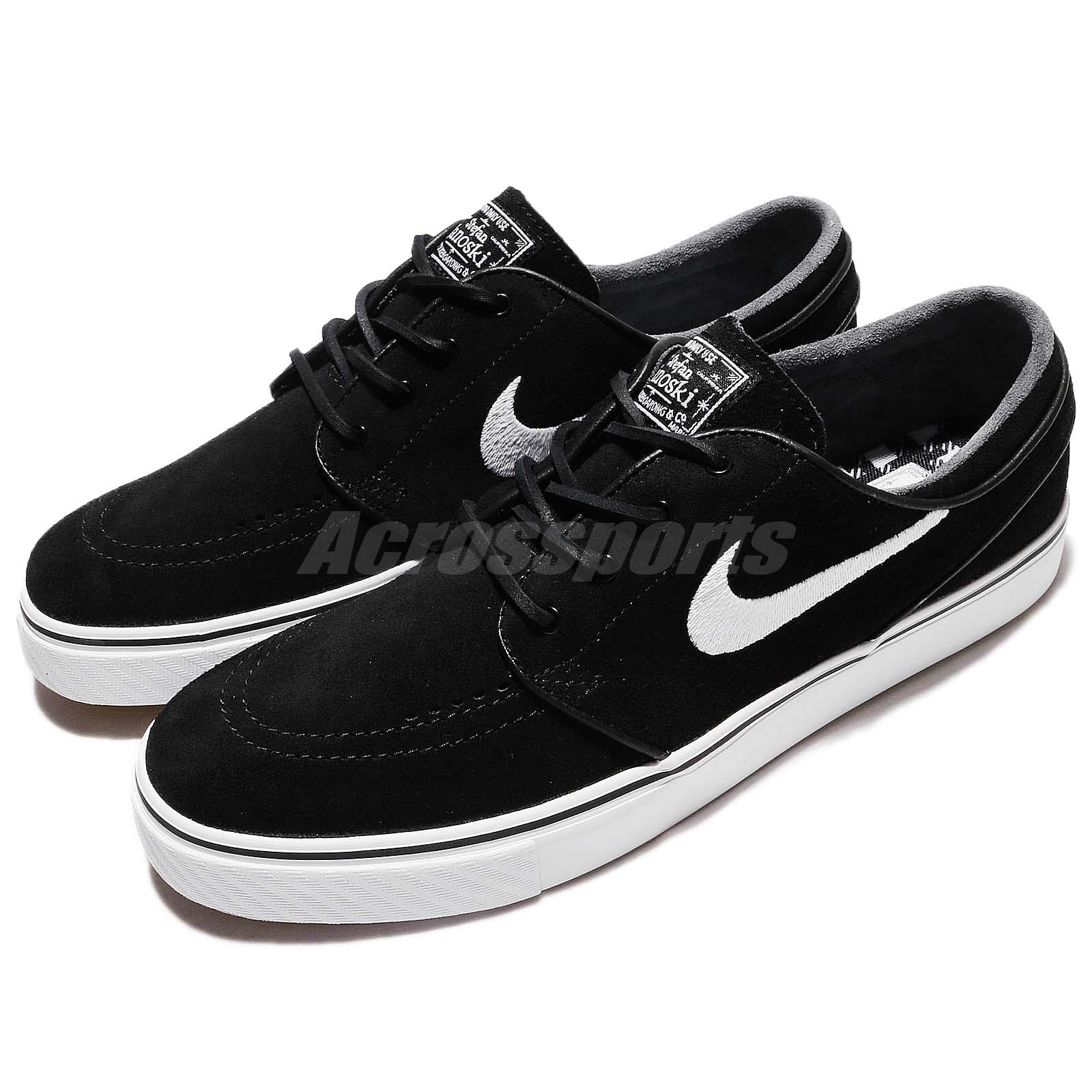 uk availability 9c01f 83d5e Details about Nike SB Air Zoom Stefan Janoski OG Black White Men Skateboarding  Shoe 833603-012