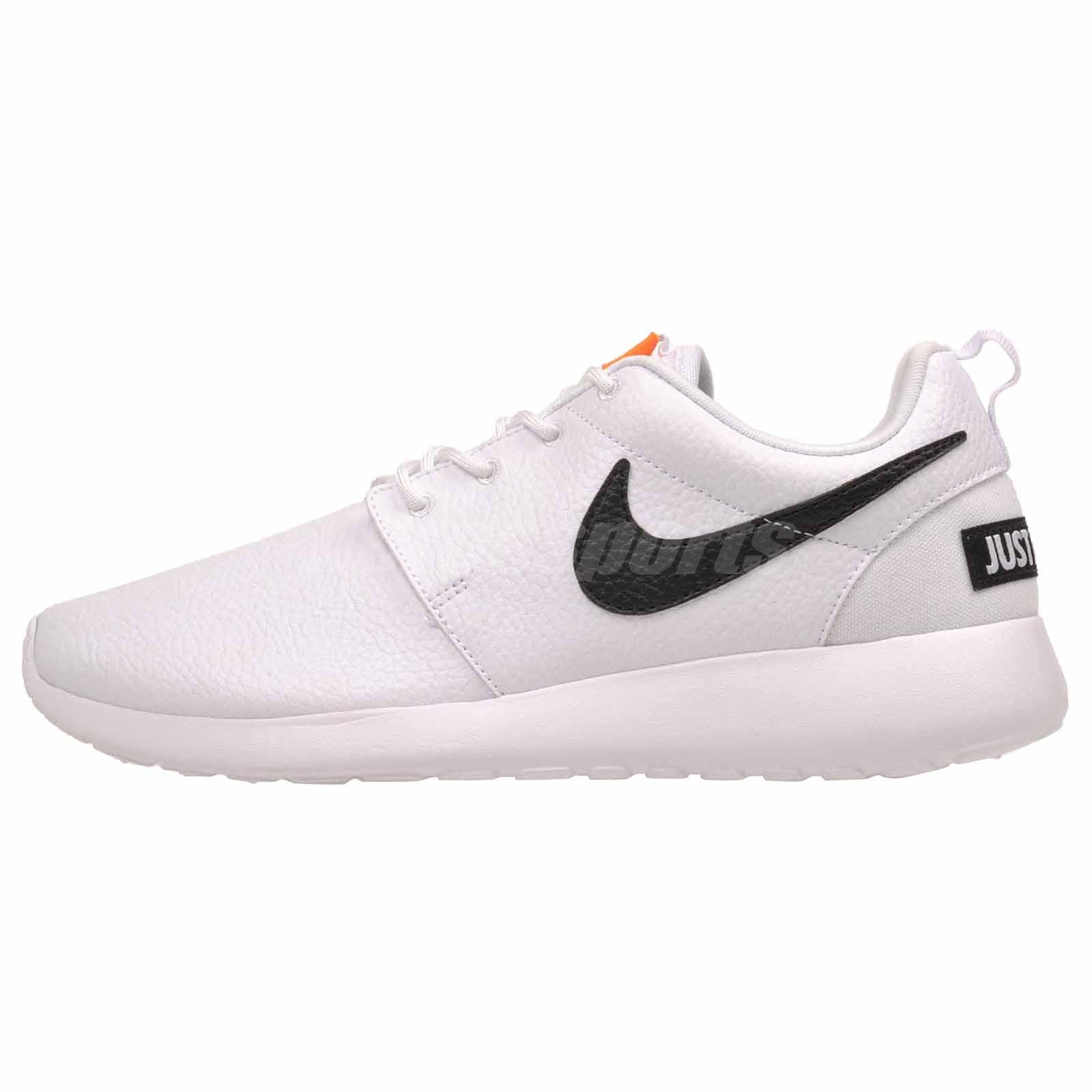 ee344ef2a8d6b Details about Nike Wmns Roshe One PRM Running Womens Premium Shoes NWOB  White Black 833928-104