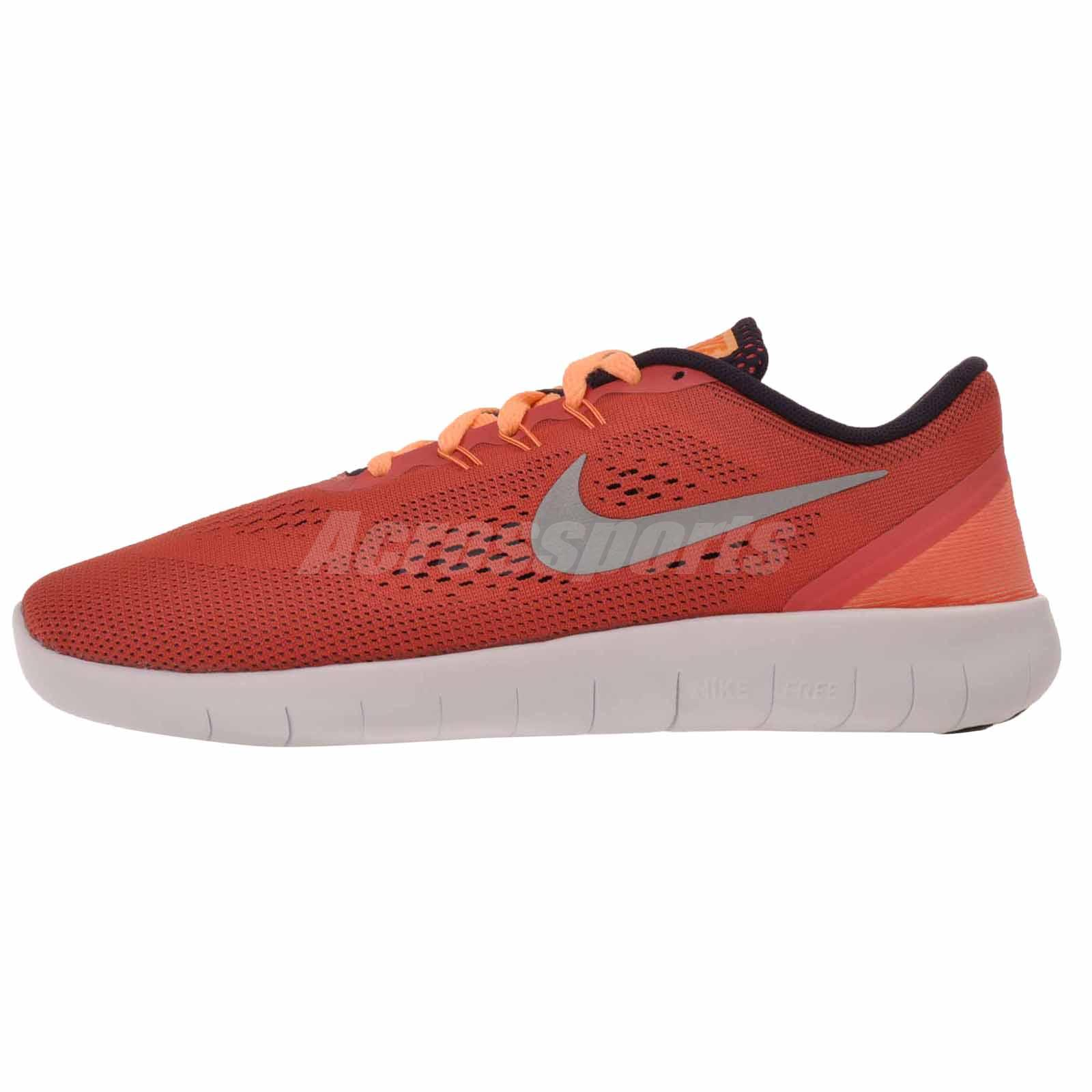 Details about Nike Free RN GS Kids Youth Womens Running Shoes Ember Glow 833993 801