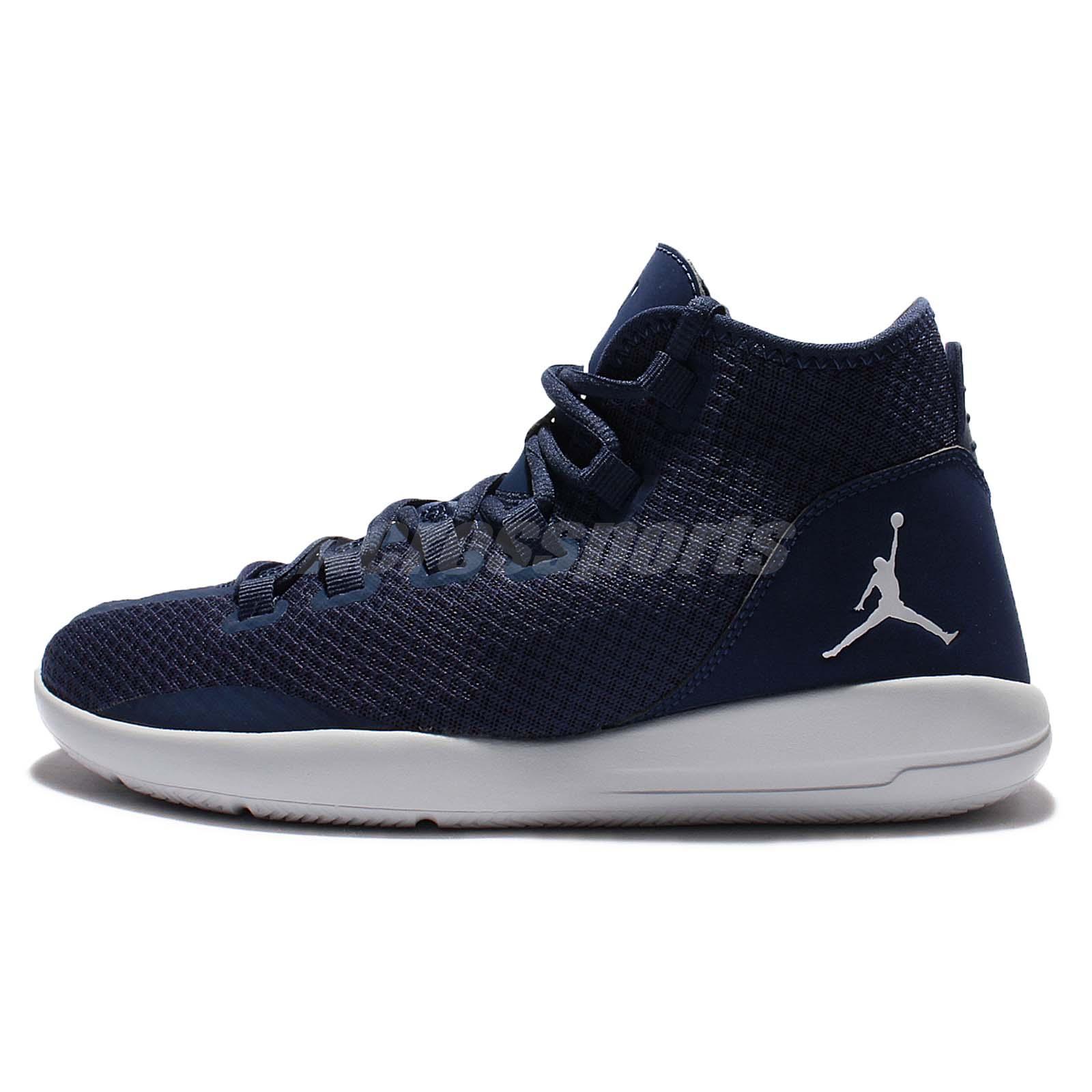 new concept 96def 10d1c ... greece nike jordan reveal navy pure platinum mens casual shoes air sole  834064 402 cbaad 0d6c3