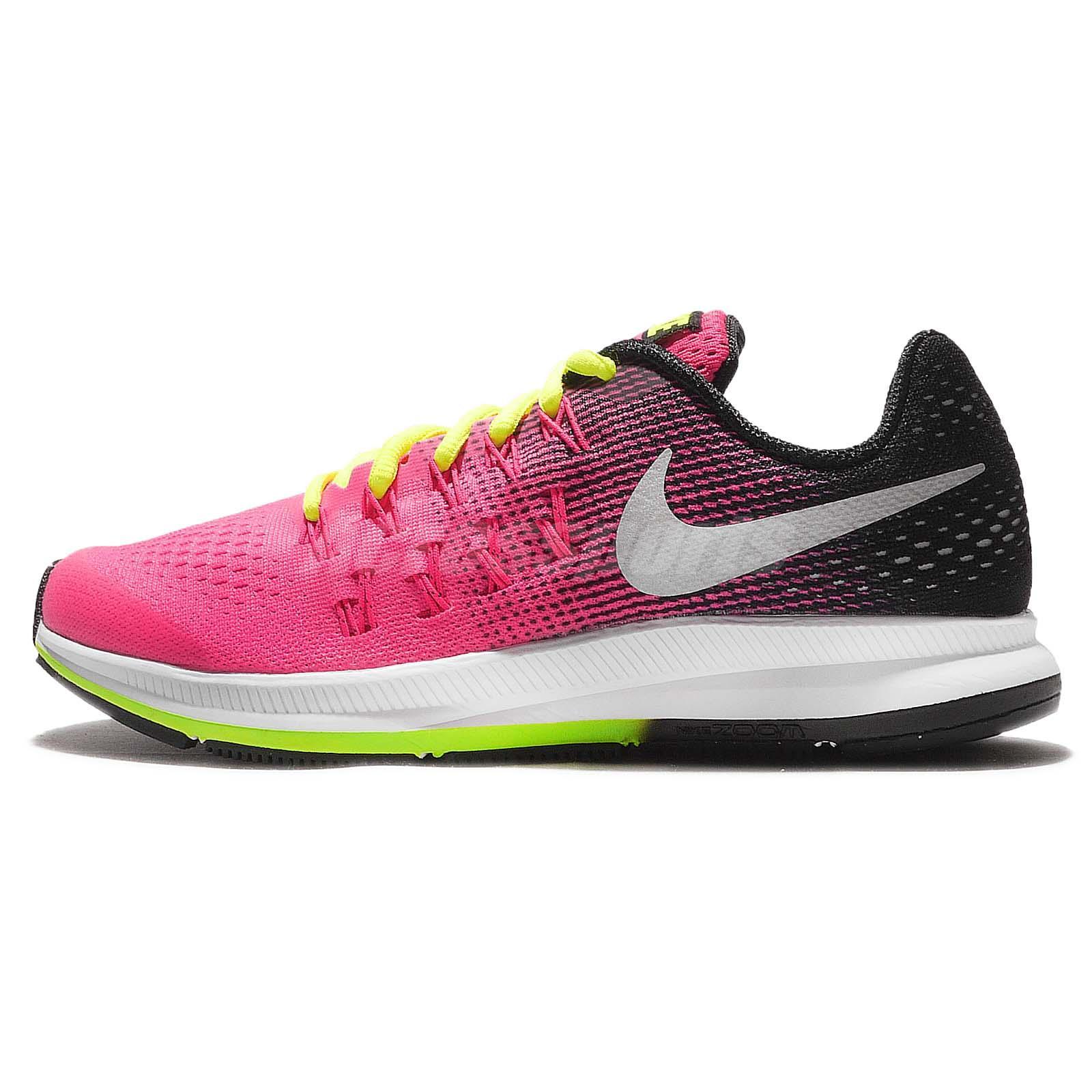 Running Black Kid Pegasus Shoes Nike Zoom Gs Junior Youth 33 Pink nZNPk08wOX