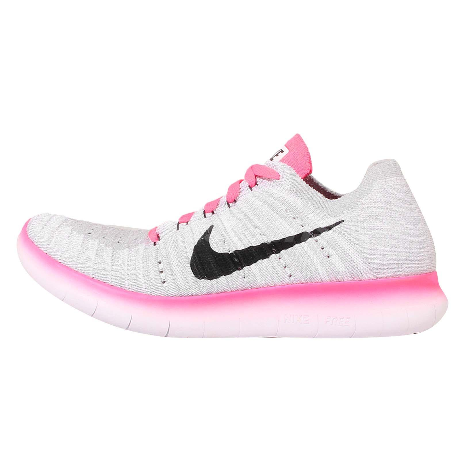 online store 9936a 78b79 ... 5.0 caracteristicas Nike Free RN Flyknit GS White Pink Run Youth Womens  Running Shoes 834363-106 ...
