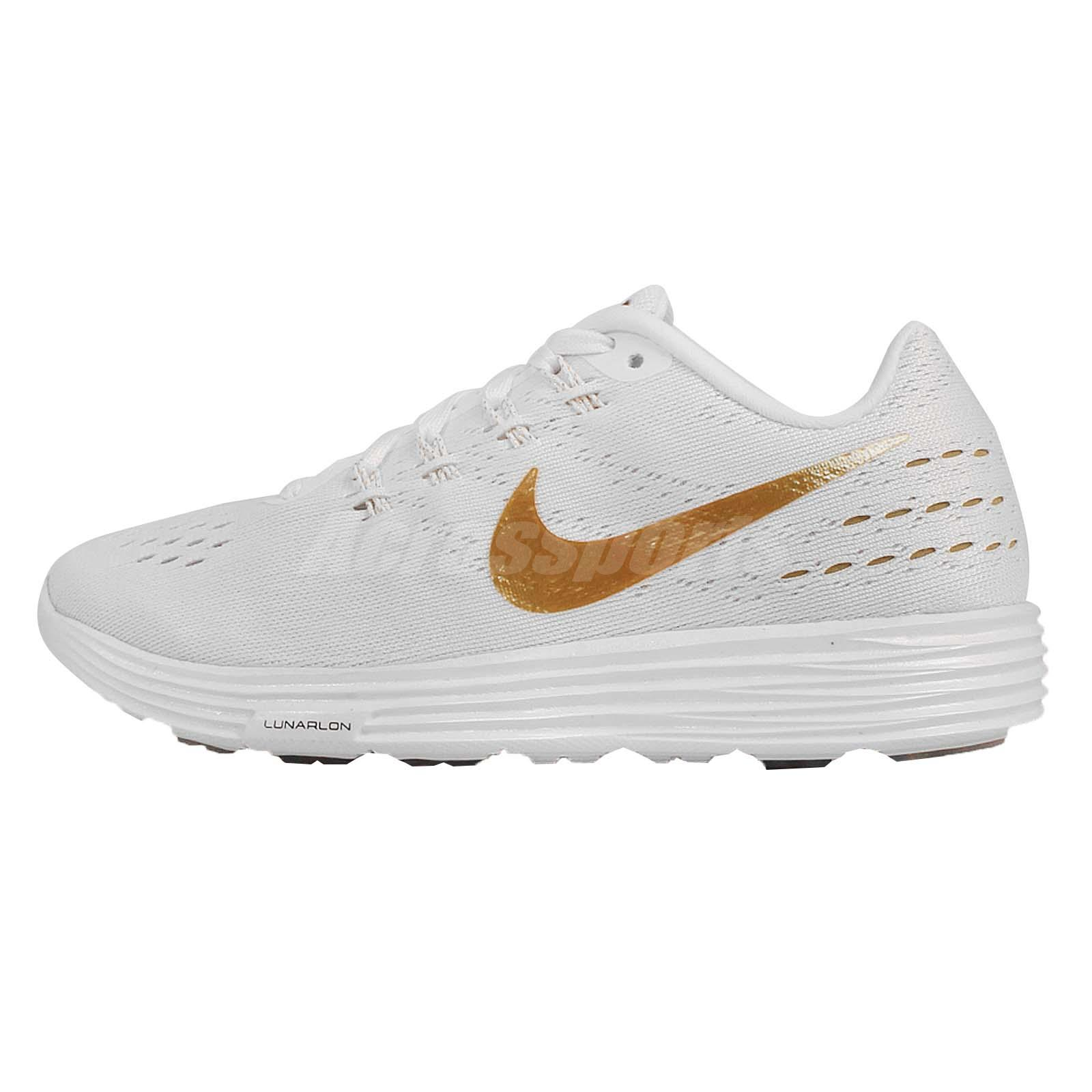 new concept 0998d 650d3 ... Wmns Nike Lunartempo 2 IWD II White Gold Womens Running Shoes  839420-108 ...