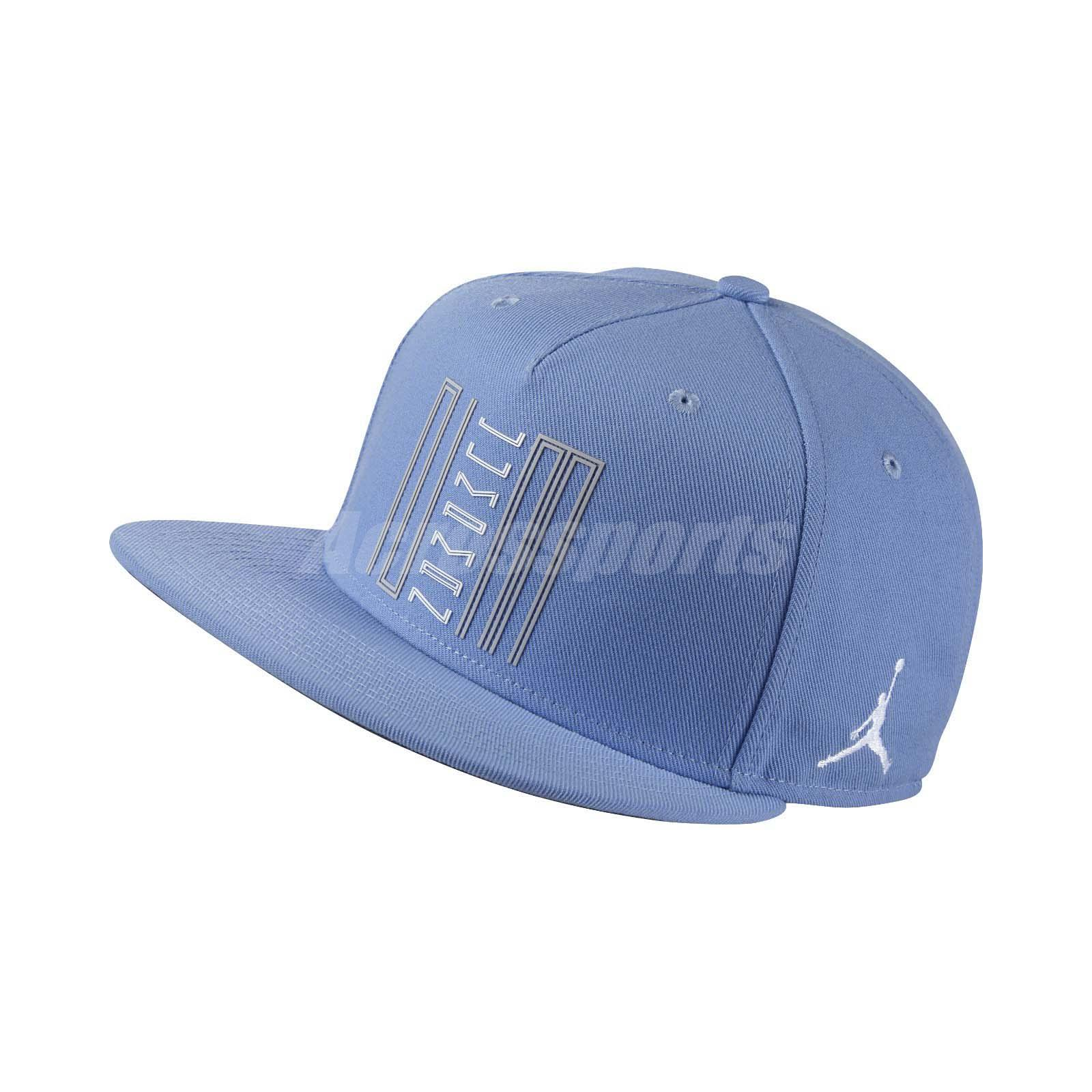 2e3052909da ... new zealand nike aj11 low unc columbia blue men snapback cap adjustable  hat 843072 412 f537d