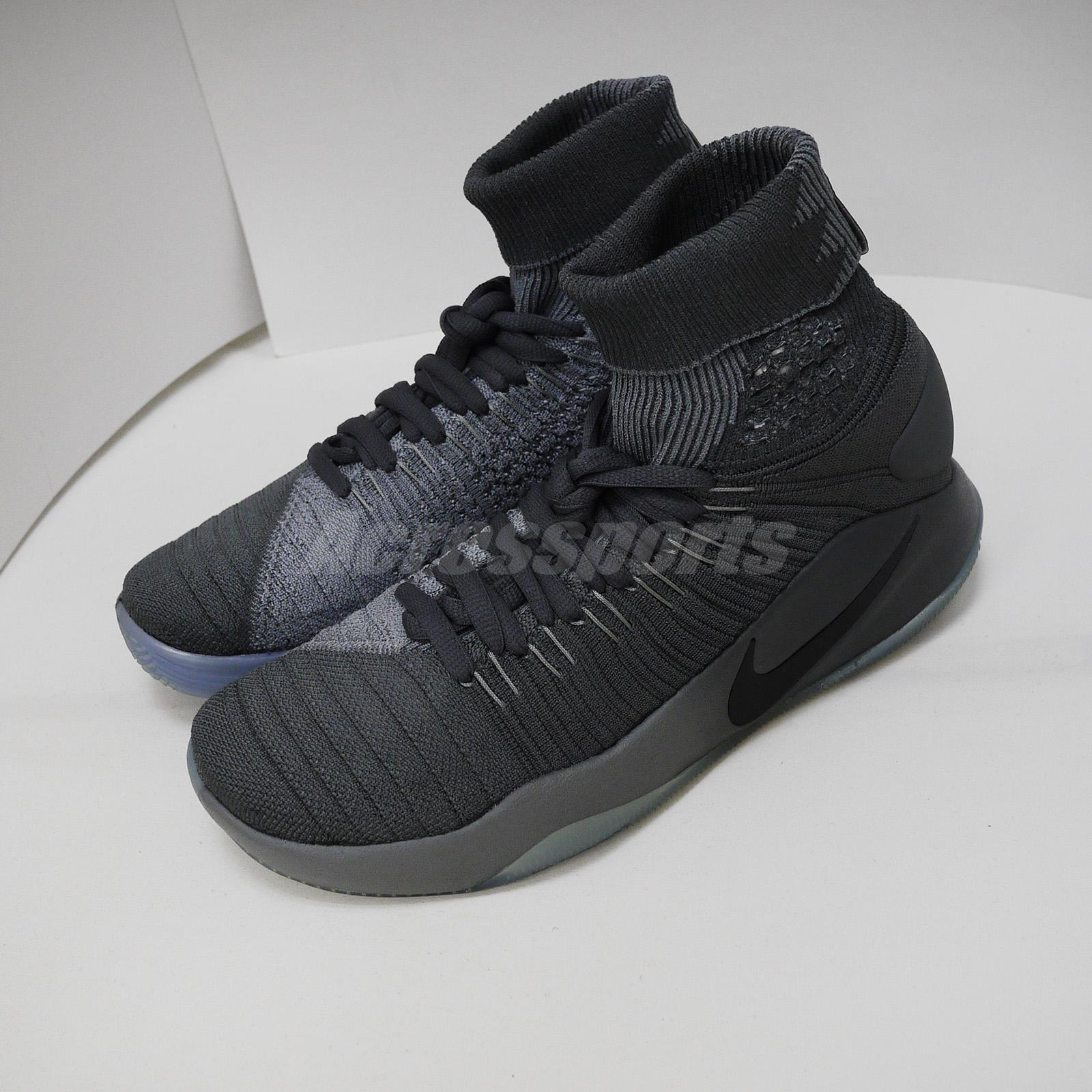 198a9f50bba9 Details about Nike Hyperdunk 2016 Flyknit Left Foot With Discoloration Men  US8.5 843390-002