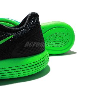 a4890ab89ea7c Nike LunarGlide 8 VIII Black Green Mens Running Shoes Sneakers 843725-003  ...
