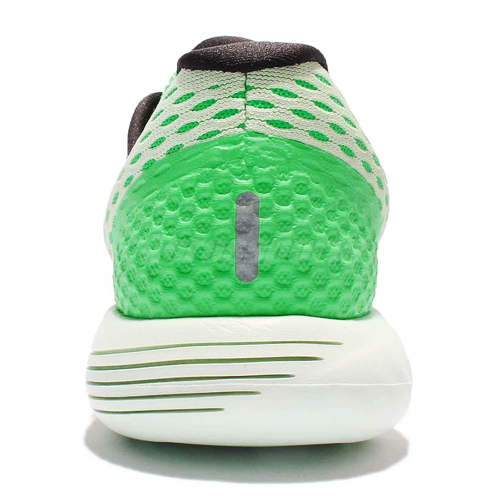 Wmns Nike Lunarglide 8 VIII Green Black Women Running Shoes Sneakers ... 78bd4781f