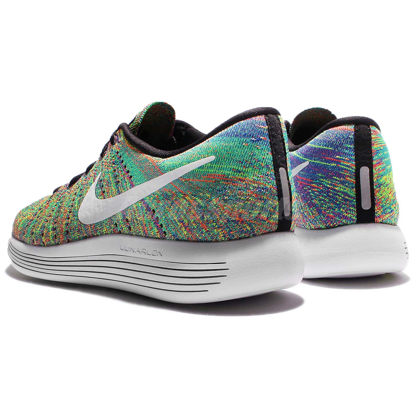 Rainbow Colored Nike Running Shoes