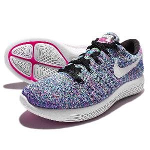 newest collection 9fb00 8231a ... Wmns Nike LunarEpic Low Flyknit Multi-Color Rainbow Womens Running  843765-004 ...