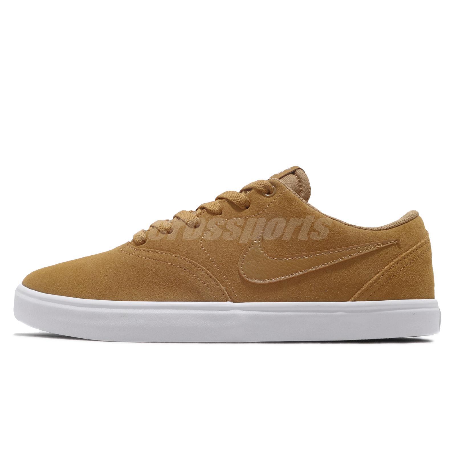 b43f800d88d Nike SB Check Solar Wheat Phantom Men Skate Boarding Shoes Sneakers  843895-770