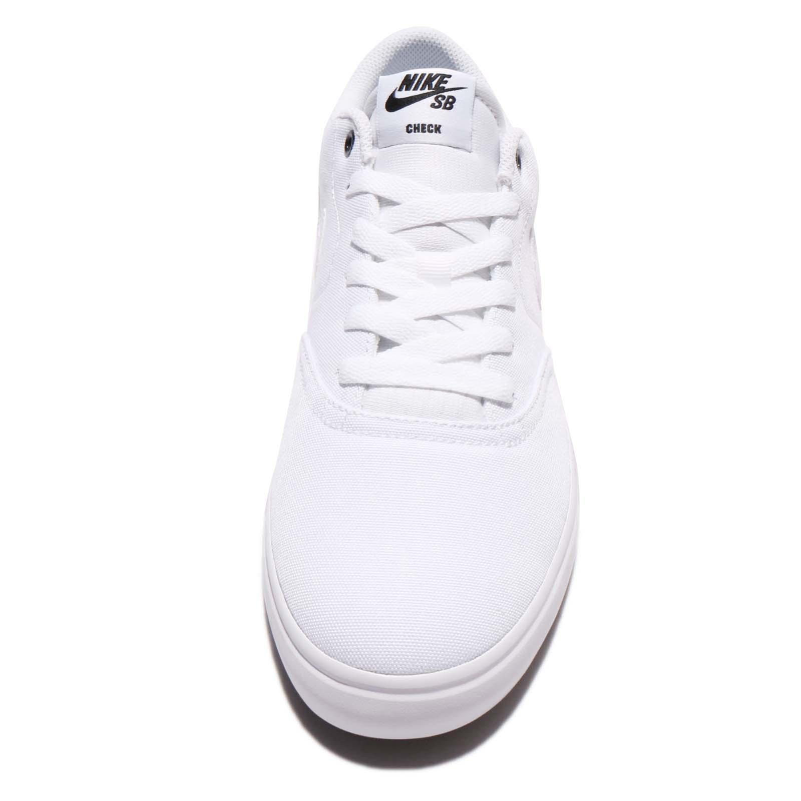 Nike Sb Check Solar Cnvs Canvas White Men Skate Boarding