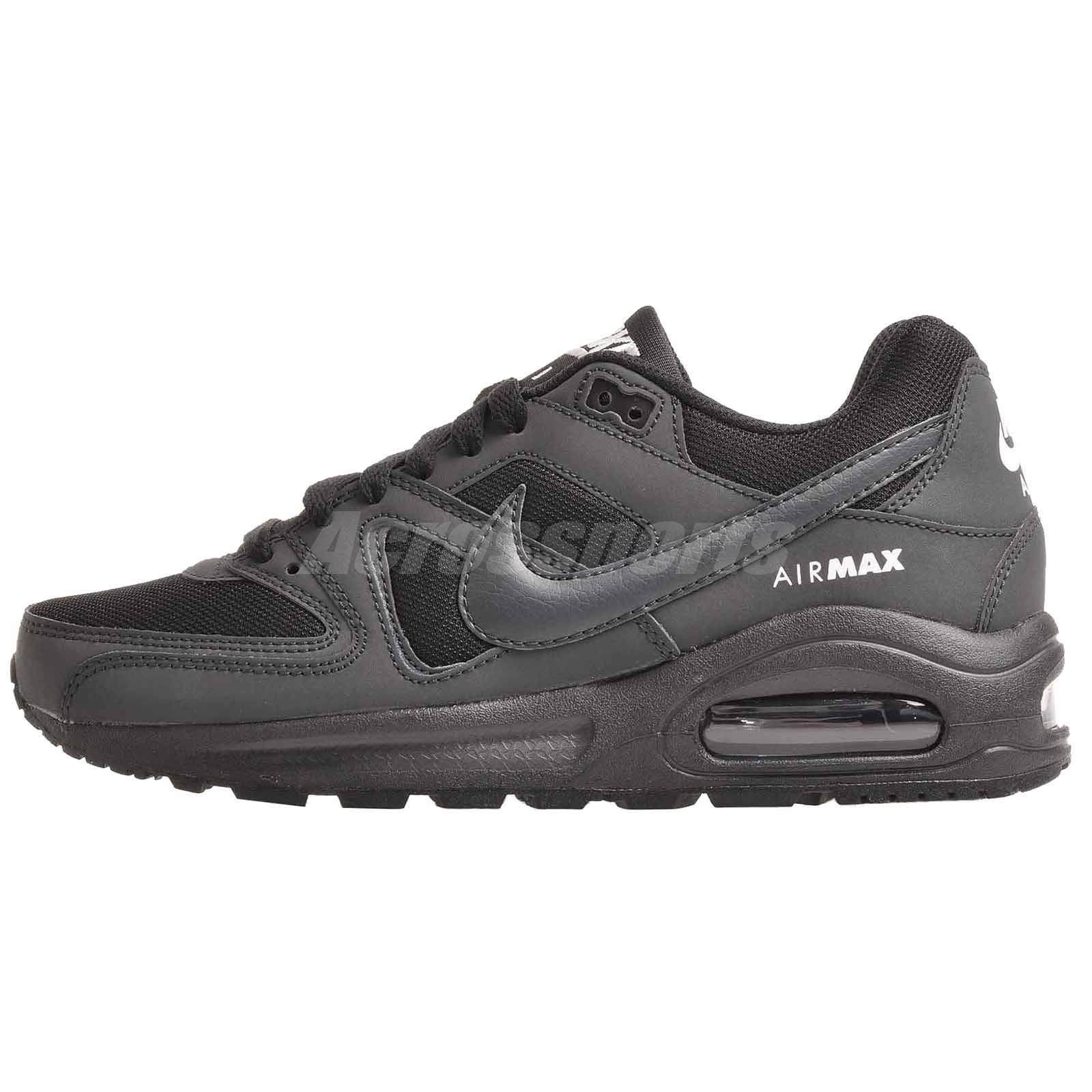 76a2f1ce6d Nike Air Max Command Flex (GS) Running Kids Shoes Black 844346-002 ...