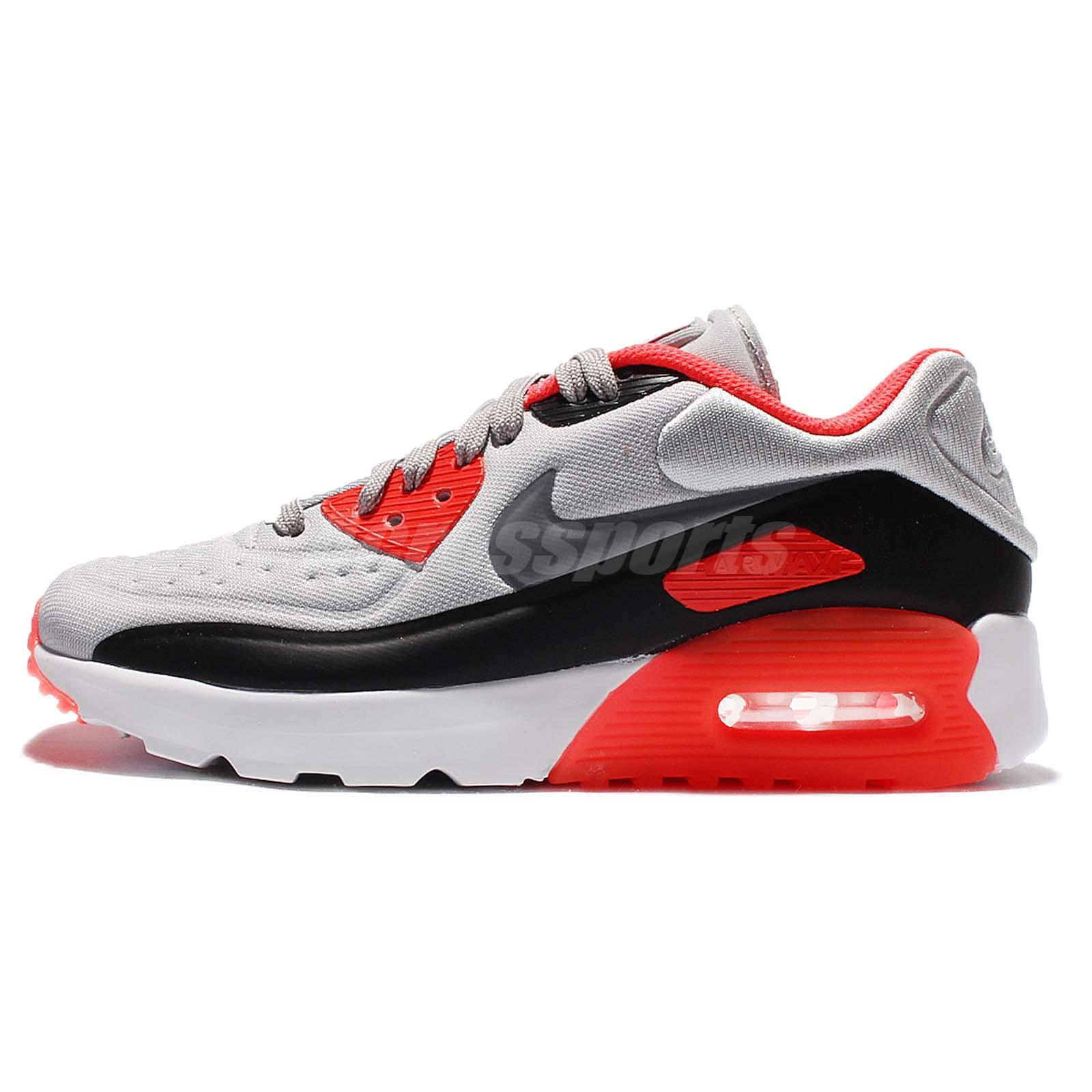 separation shoes 69047 f8a02 ... cheapest nike air max 90 ultra se gs grey red womens girls og running  shoes 844599