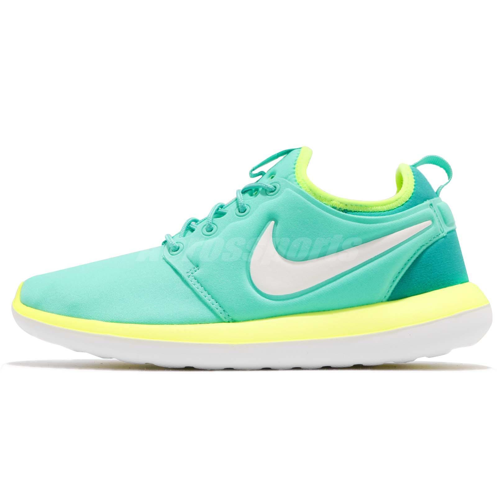 size 40 5f260 63563 Nike Roshe Two 2 GS Hyper Turquoise White Kids Girls Boys Women Shoes 844655 -300