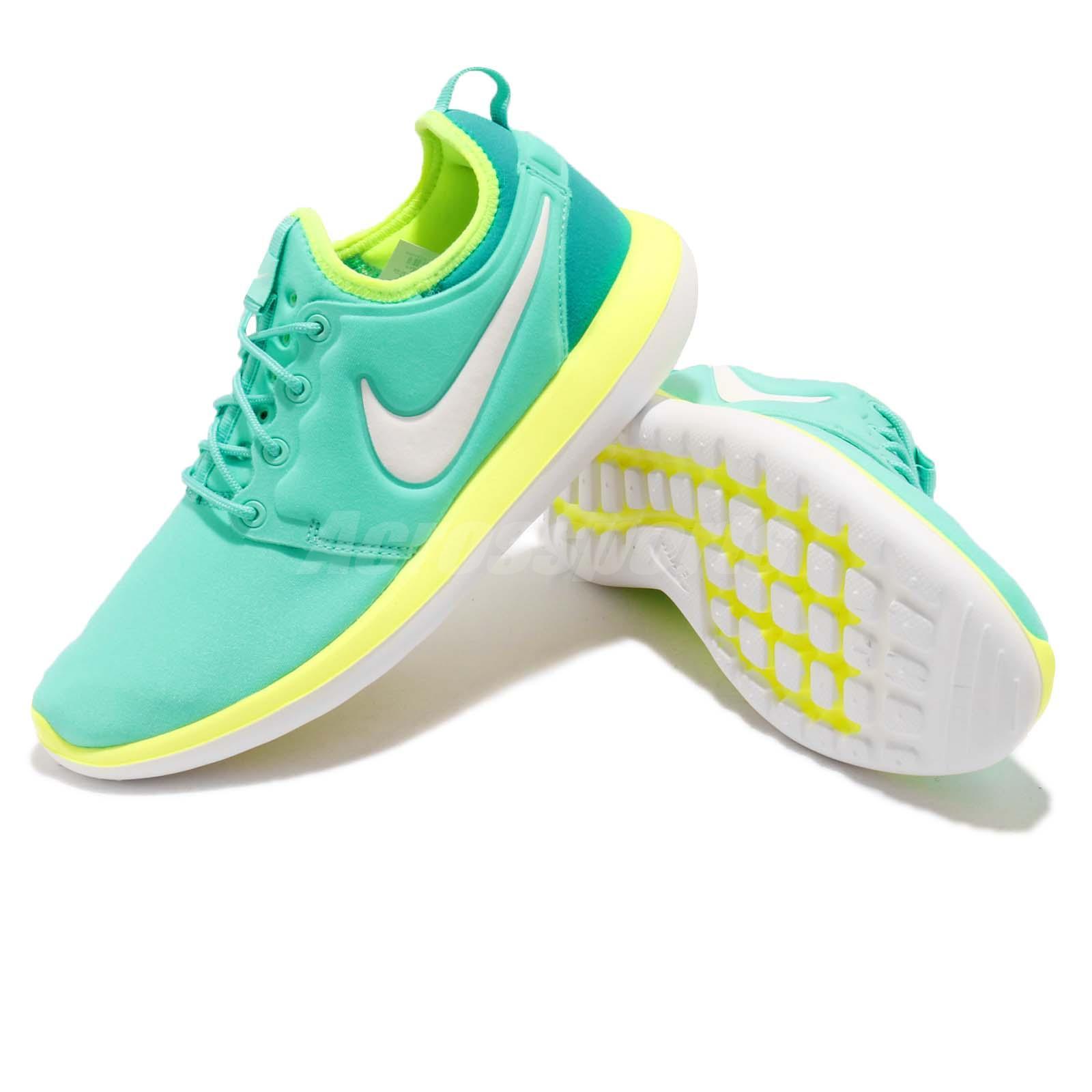 info for a3217 0d461 Nike Roshe Two 2 GS Hyper Turquoise White Kids Girls Boys Women ...