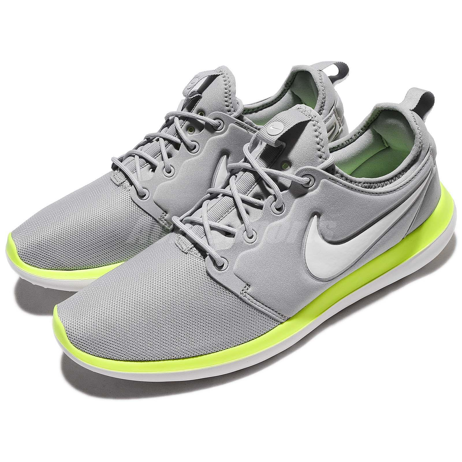 7f149cf09b38 Details about Nike Roshe Two 2 Wolf Grey Green Men Running Shoes Sneakers  844656-007
