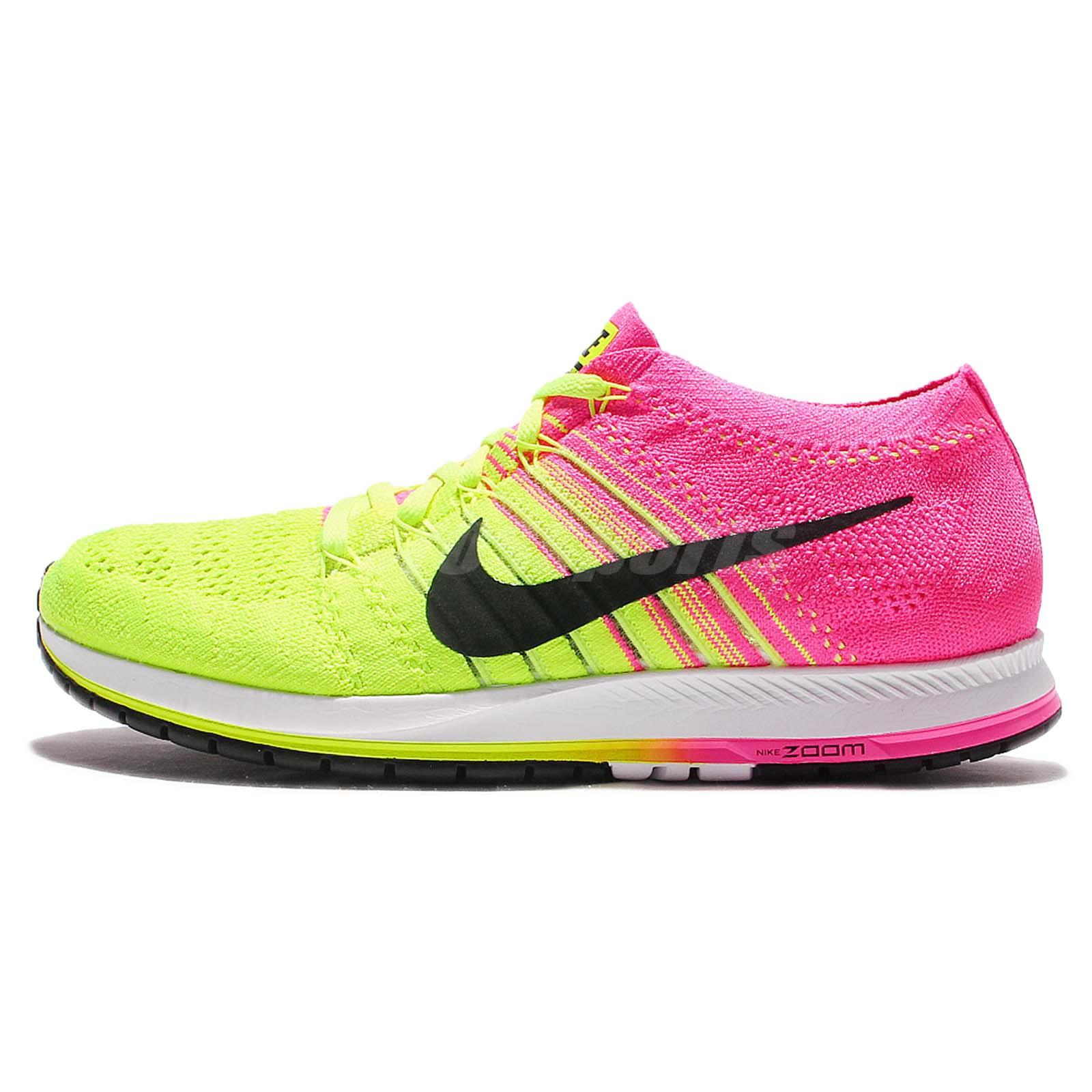 Nike Flyknit Streak OC Rio Olympics Multi-Color Mens Running Shoes 844797- 999