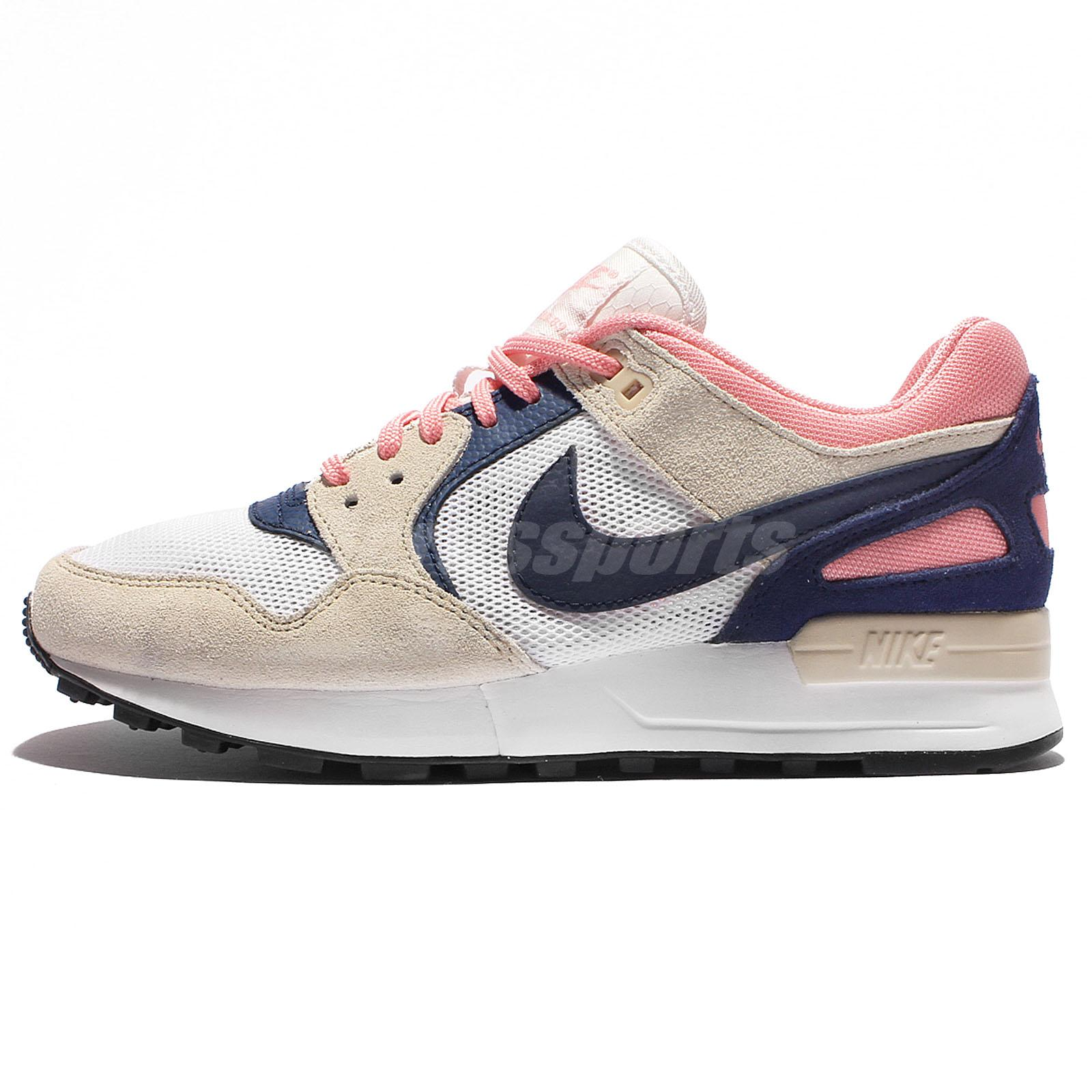 wmns nike air pegasus 89 white blue women running shoes. Black Bedroom Furniture Sets. Home Design Ideas
