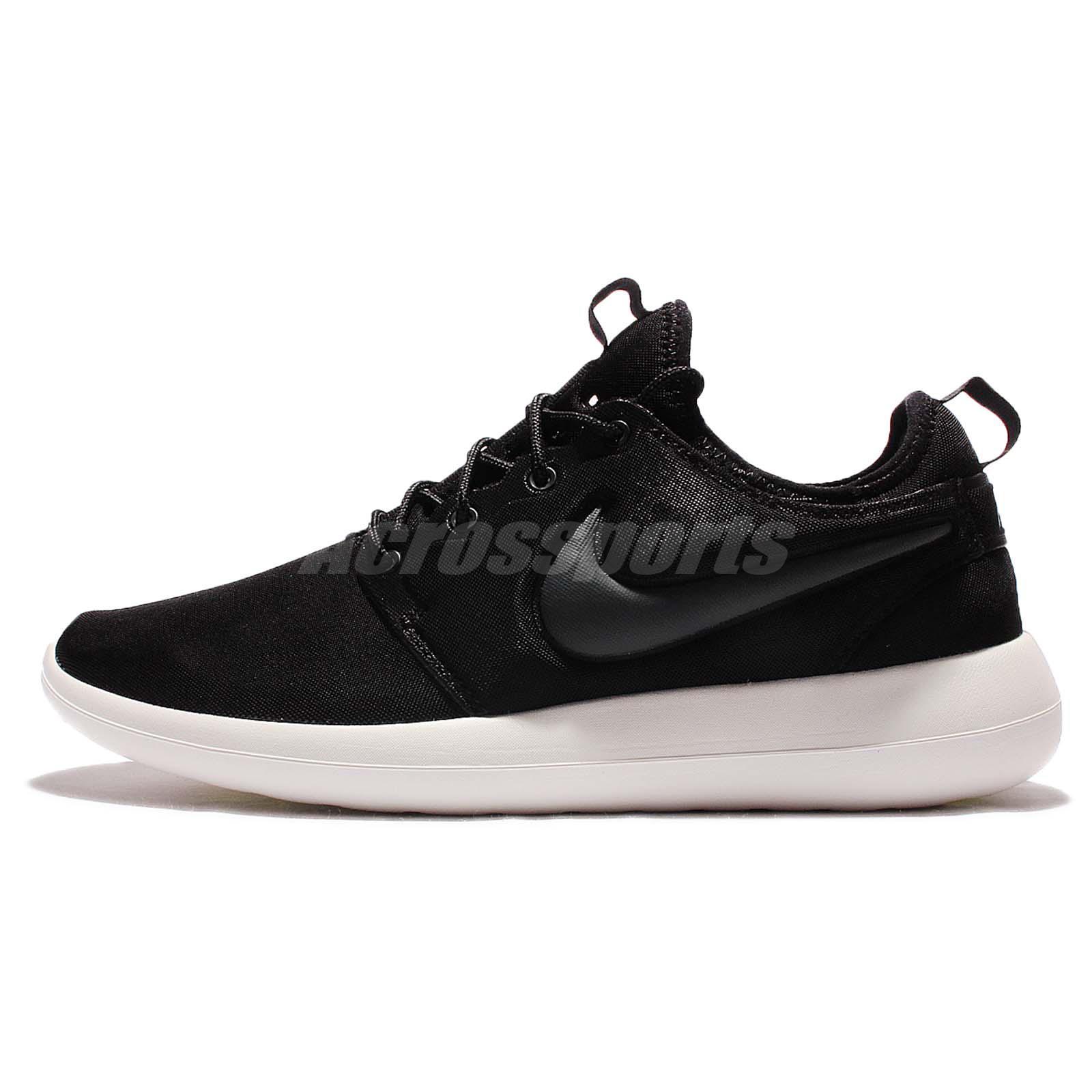 Wmns Nike Roshe Two 2 Rosherun Black Sail Women Running Shoe Sneakers  844931-002