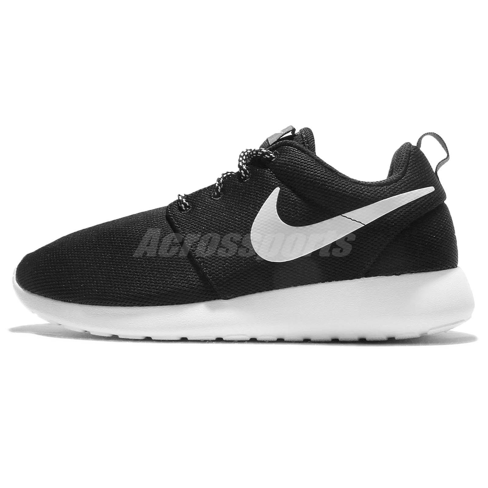 buy popular c0939 a30c6 Nike Wmns Roshe One Black White Rosherun Women Running Shoes Sneakers  844994-002