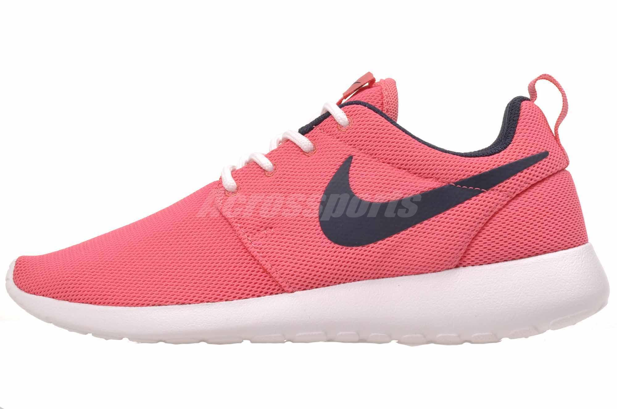 f2520d1ec12f Nike W Roshe One Running Womens Shoes Sea Coral Pink 844994-801