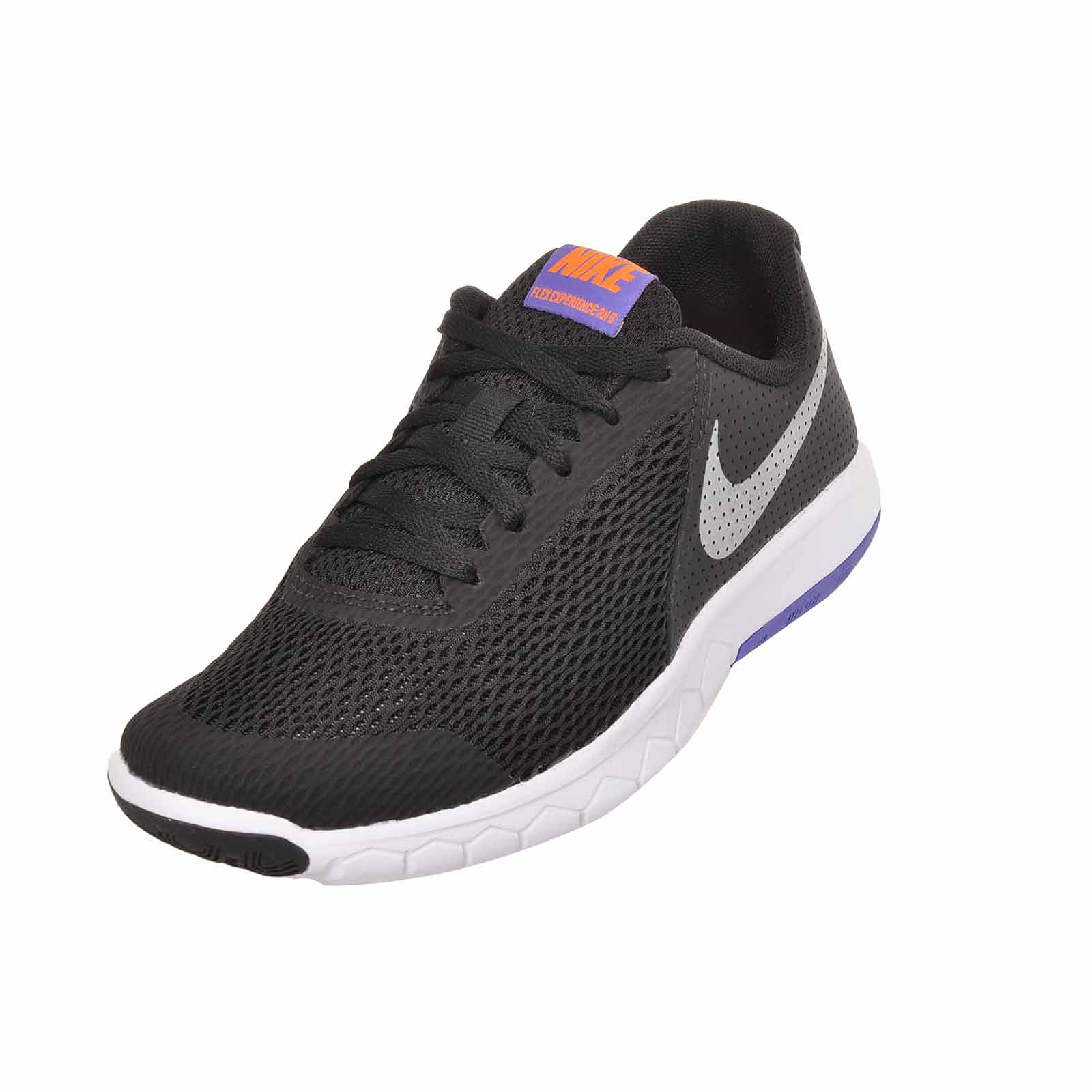 c9acf63a743e Nike Flex Experience 5 GS Running Shoes Black Kids Youth 844995-010 ...