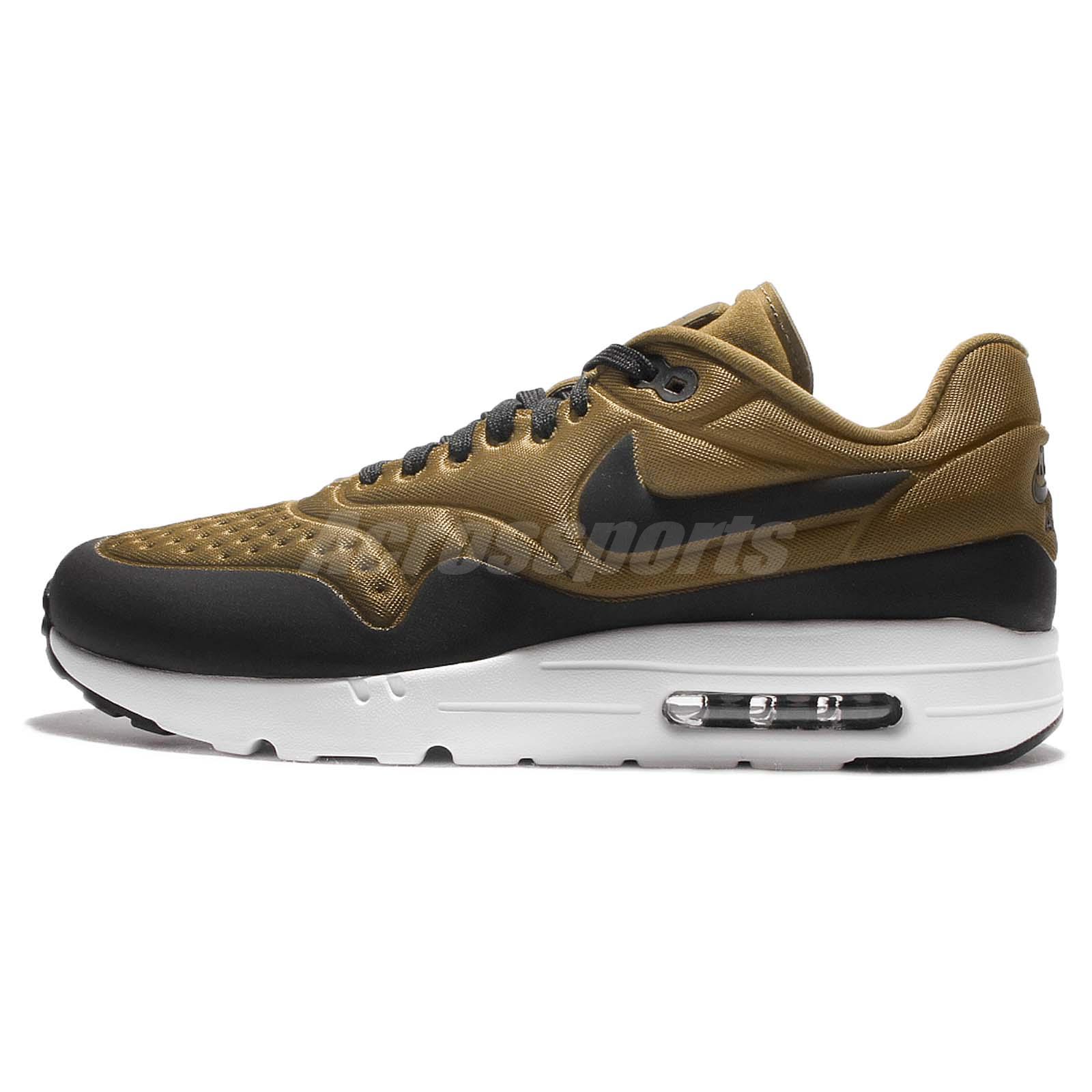 big sale 4e505 6e6e9 ... new arrivals nike air max 1 ultra se olive flak black mens running shoes  sneakers 845038