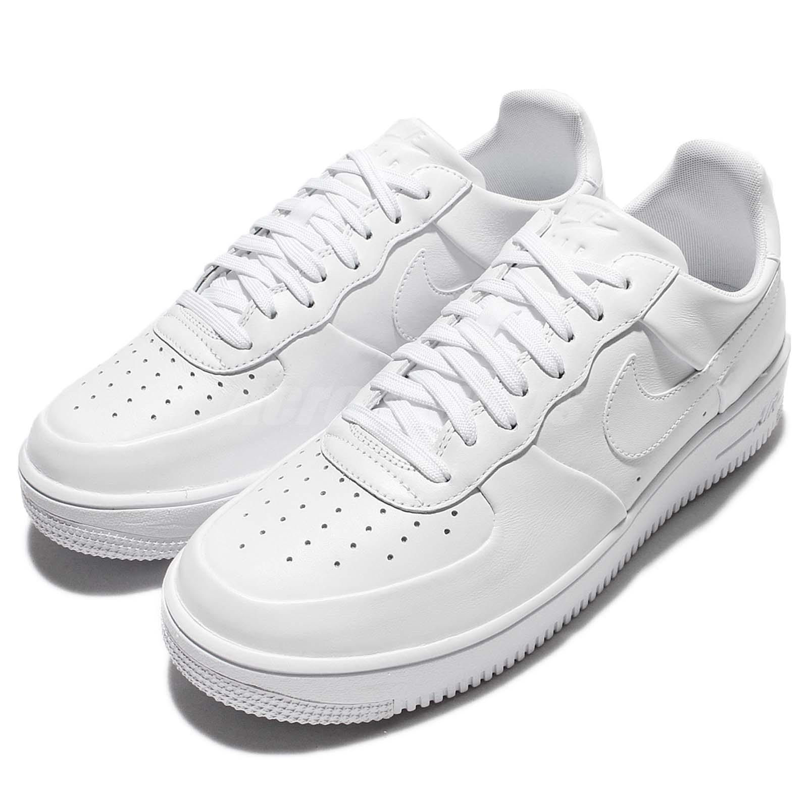 the best attitude 0362e 797fc Details about Nike Air Force 1 Ultraforce LTHR Leather Triple White Men  Sneaker AF1 845052-100