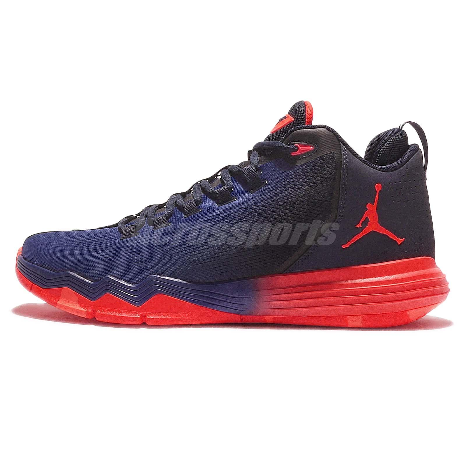 quality design 72275 1d718 IX AE X 9 Chris Paul Navy Red Mens Basketball Shoes 845340 Zapatilla Jordan  ...