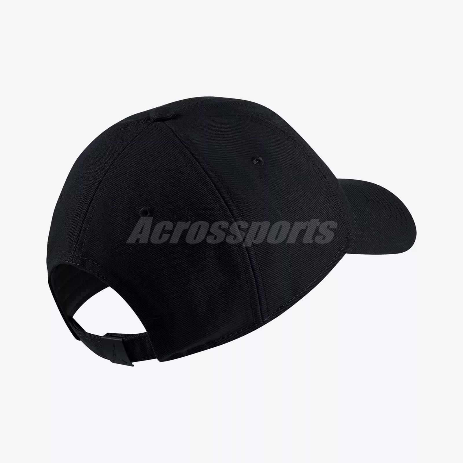 5228b02bf5d Nike Jordan Jumpman Floppy H86 Adjustable Hat Cap Heritage Gym Black ...