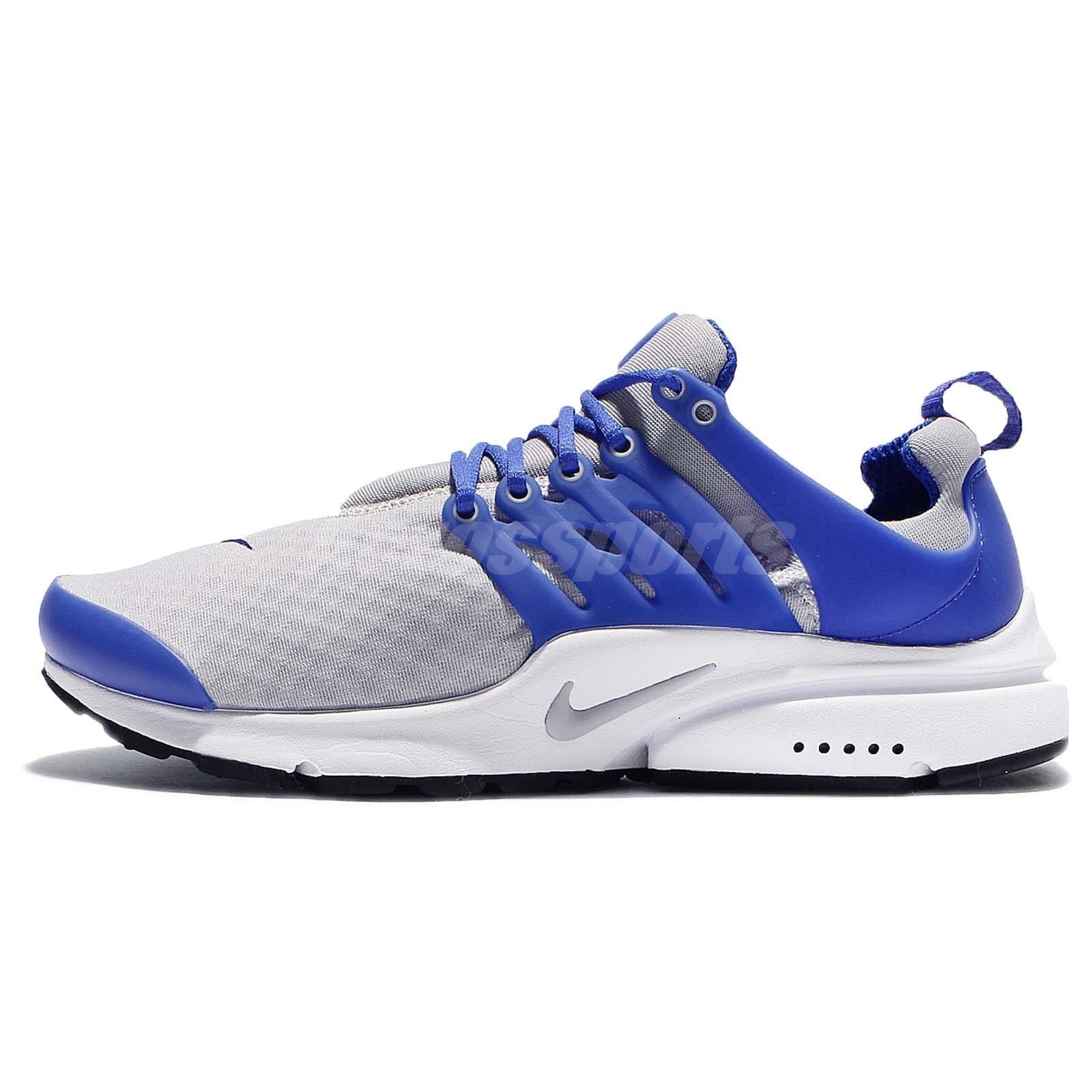 Nike Air Presto Essential Blue White Men Running Shoes Sneakers ...