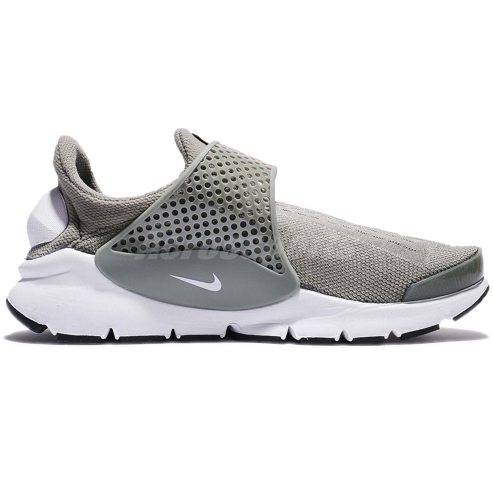 women's shoes Nike sock dartdark stucco / white-black
